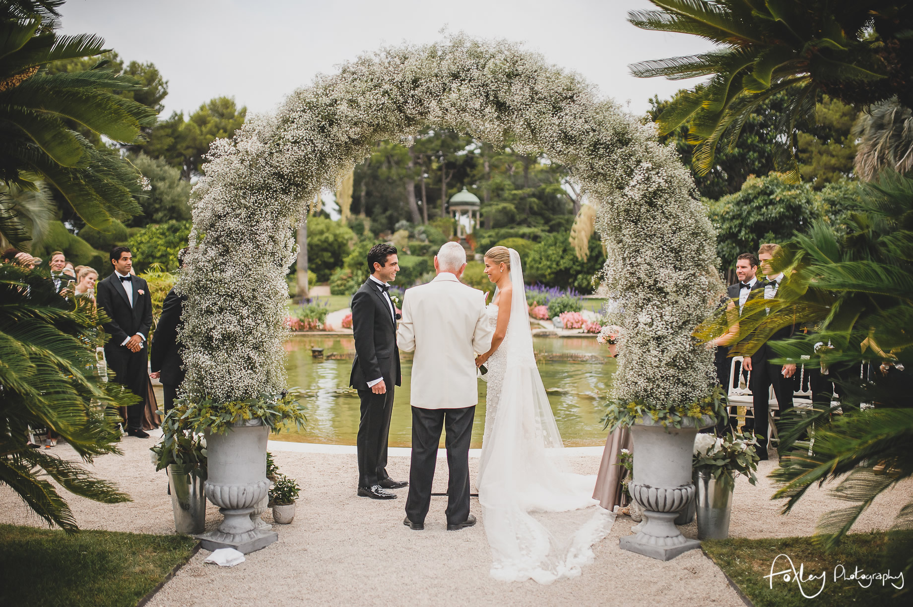 Jil will s wedding at villa ephrussi de rothschild - Villa et jardins ephrussi de rothschild ...
