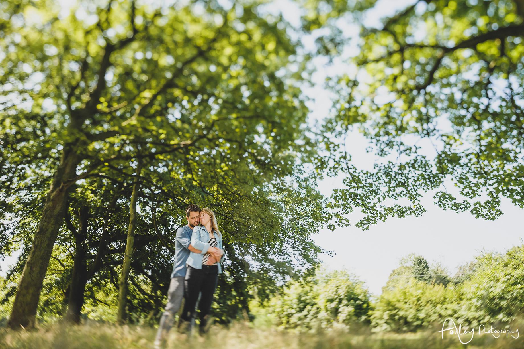 Lyndsey and Jon Pre-Wedding Shoot at Sefton Park 020