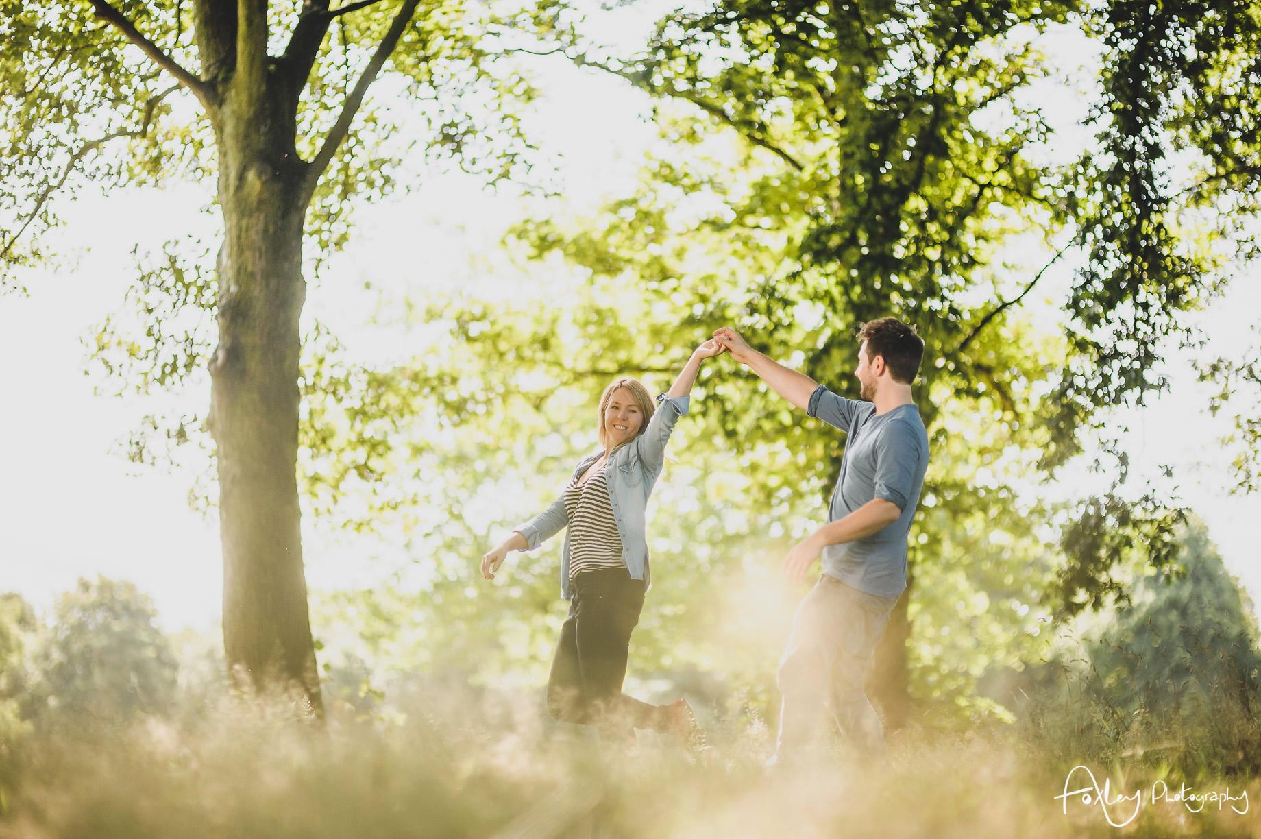 Lyndsey and Jon Pre-Wedding Shoot at Sefton Park 022