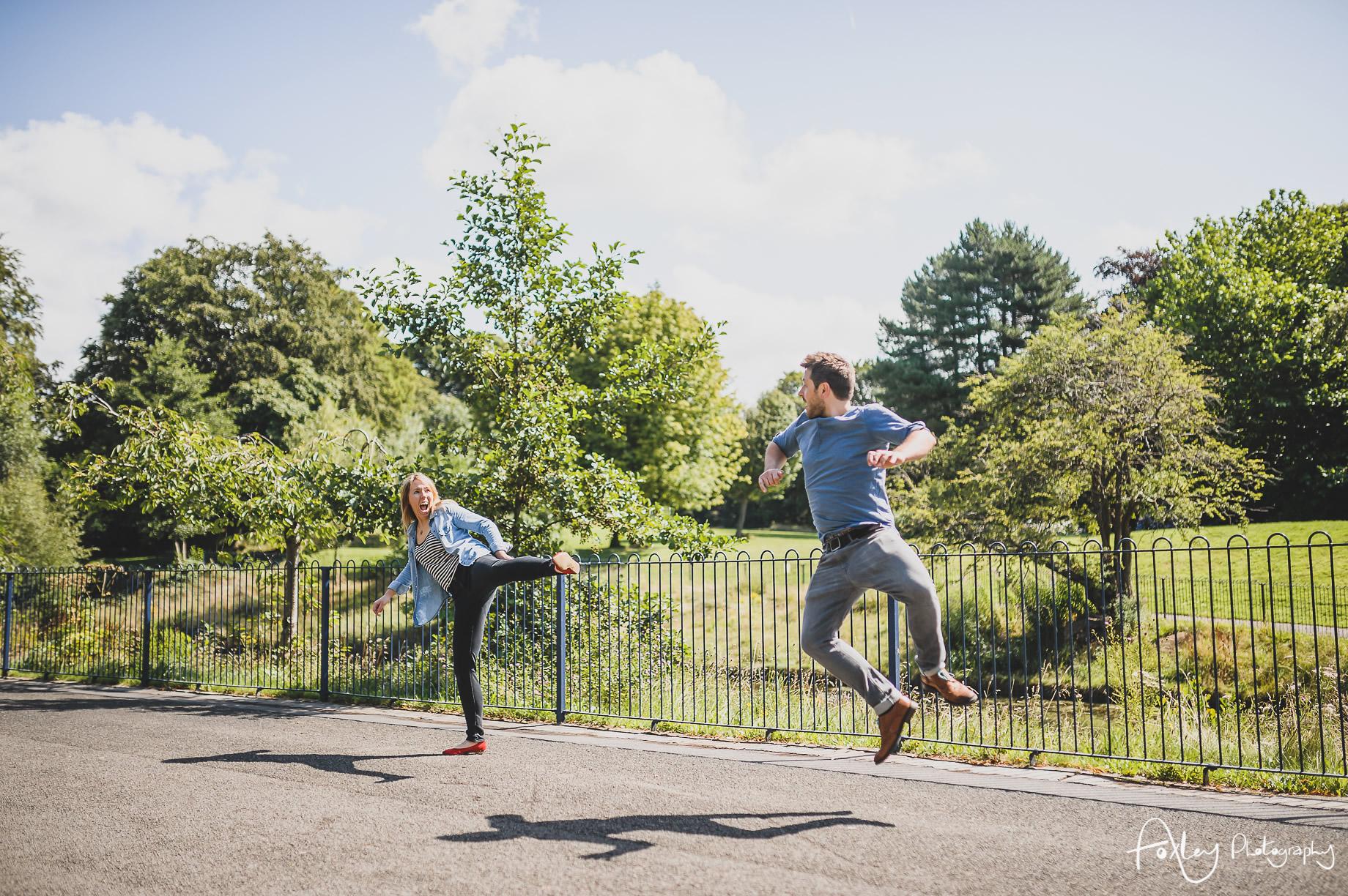 Lyndsey and Jon Pre-Wedding Shoot at Sefton Park 024