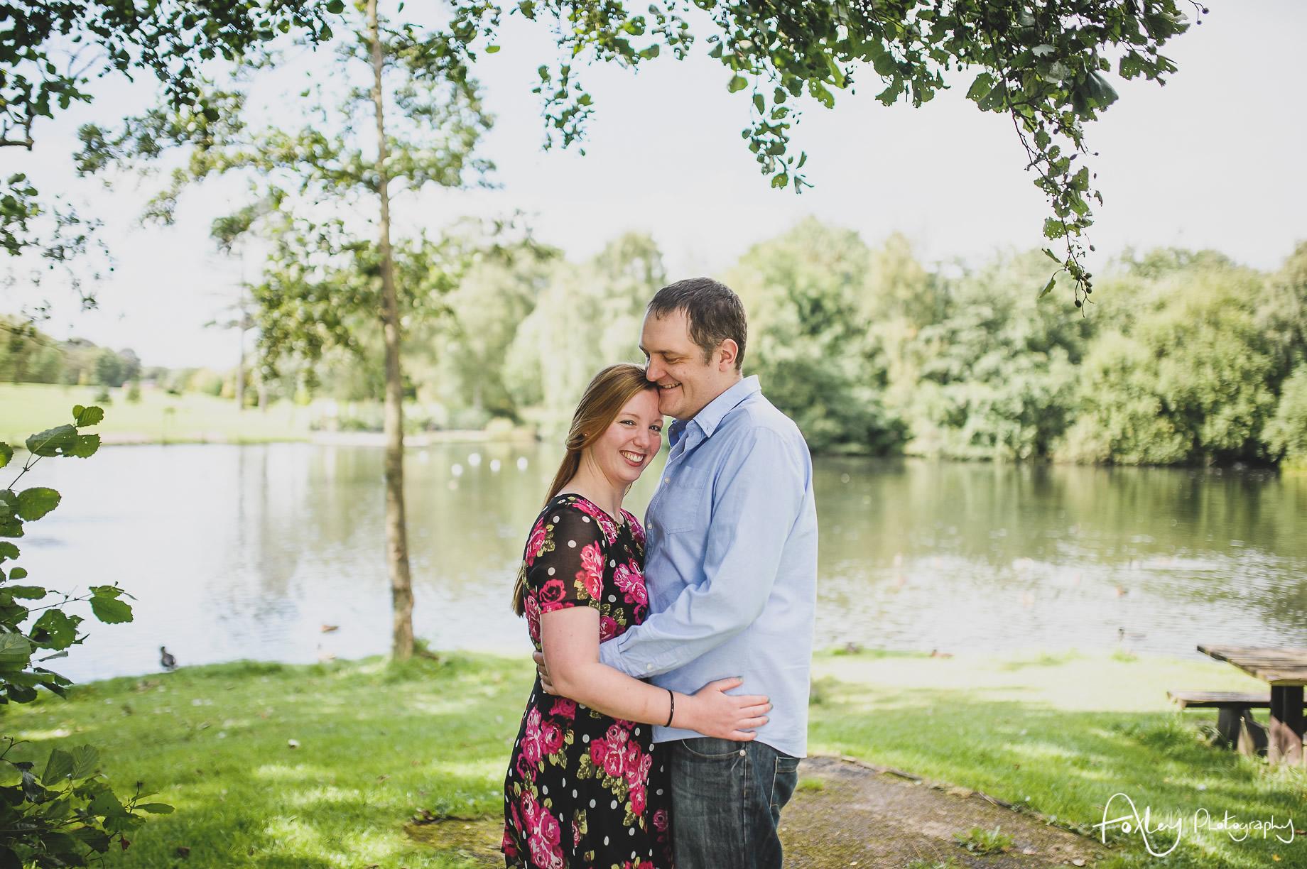 Faye and Doug Pre-Wedding Shoot at Haslam Park 002