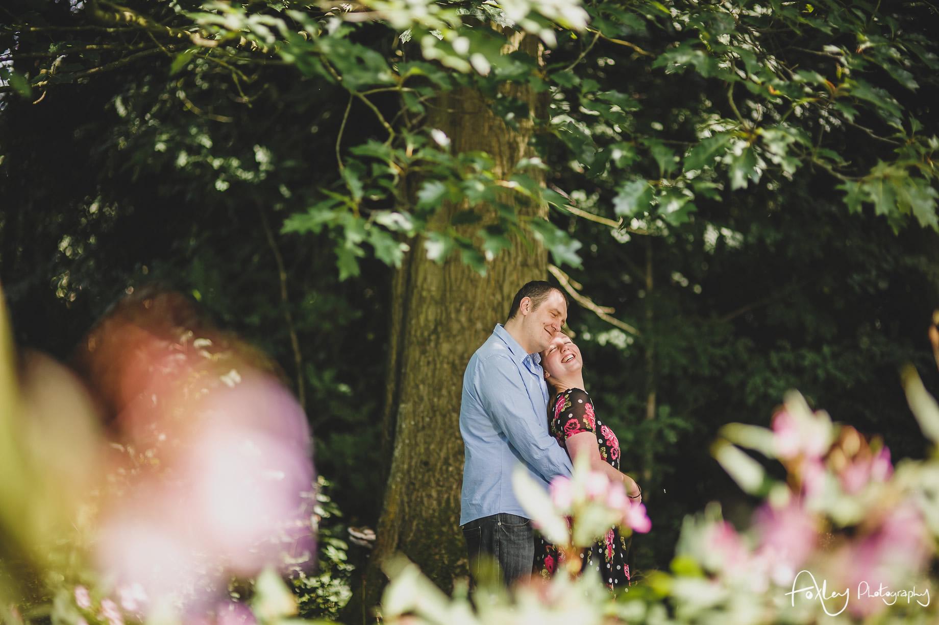 Faye and Doug Pre-Wedding Shoot at Haslam Park 009