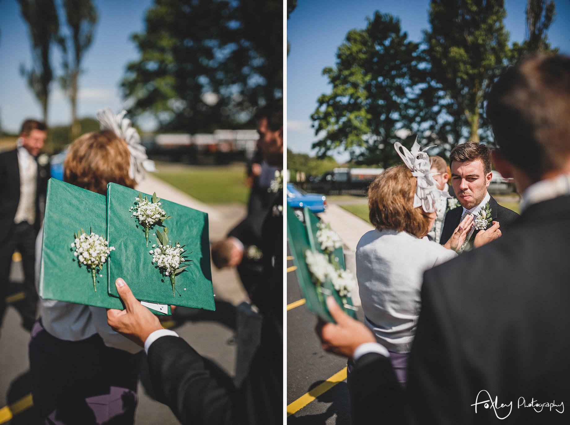Rebecca and Dan Wedding at Preston Marriott Hotel 005