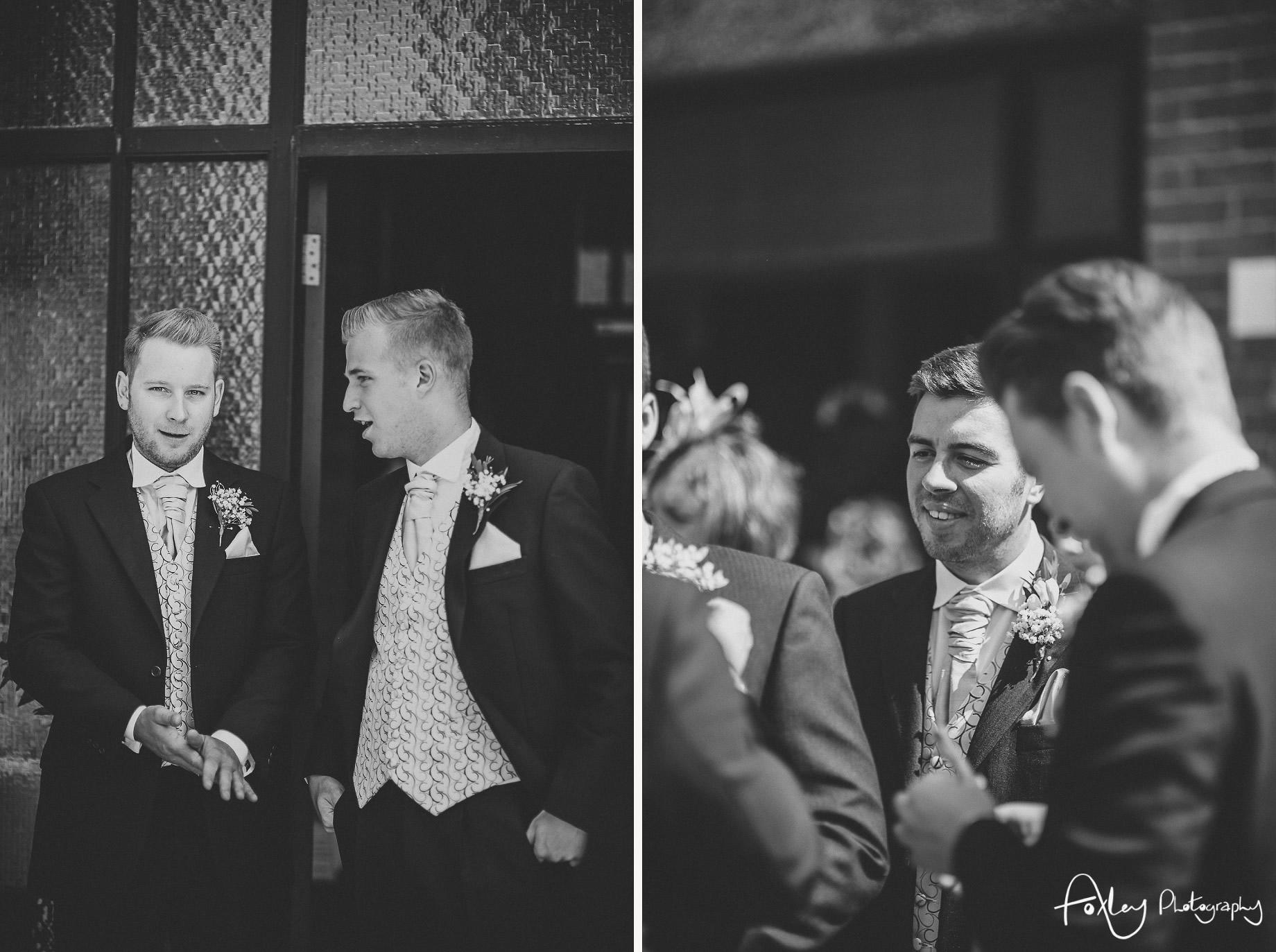 Rebecca and Dan Wedding at Preston Marriott Hotel 013