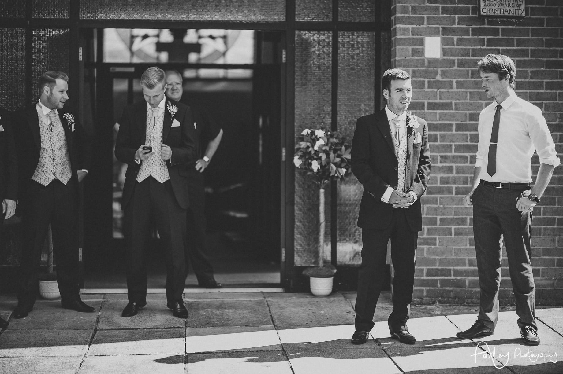 Rebecca and Dan Wedding at Preston Marriott Hotel 015