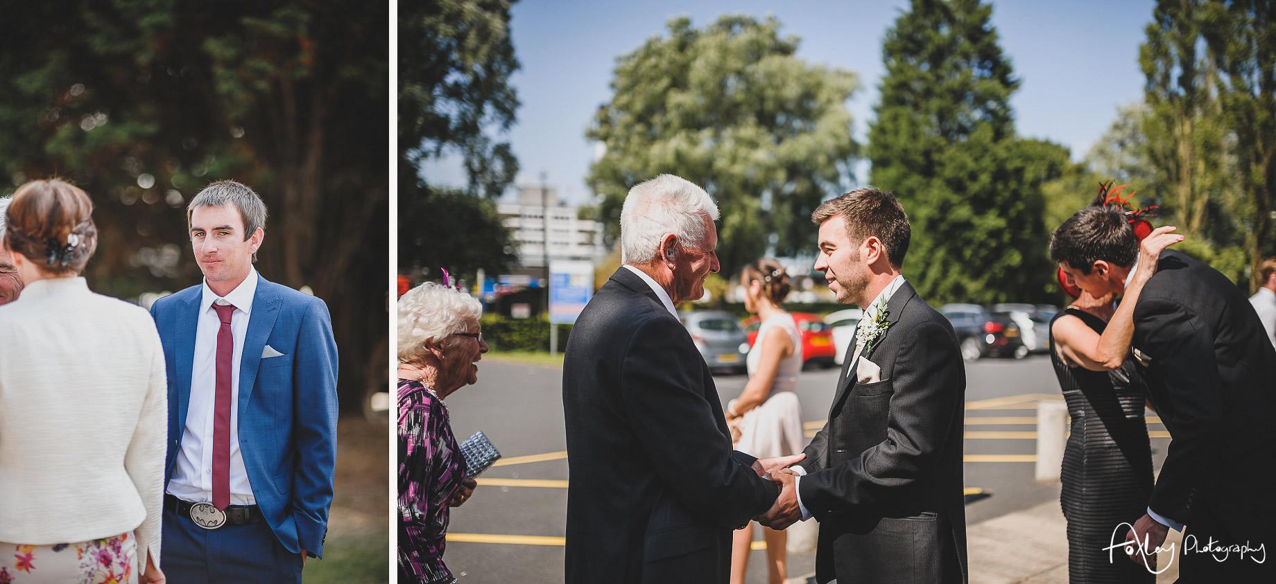 Rebecca and Dan Wedding at Preston Marriott Hotel 021