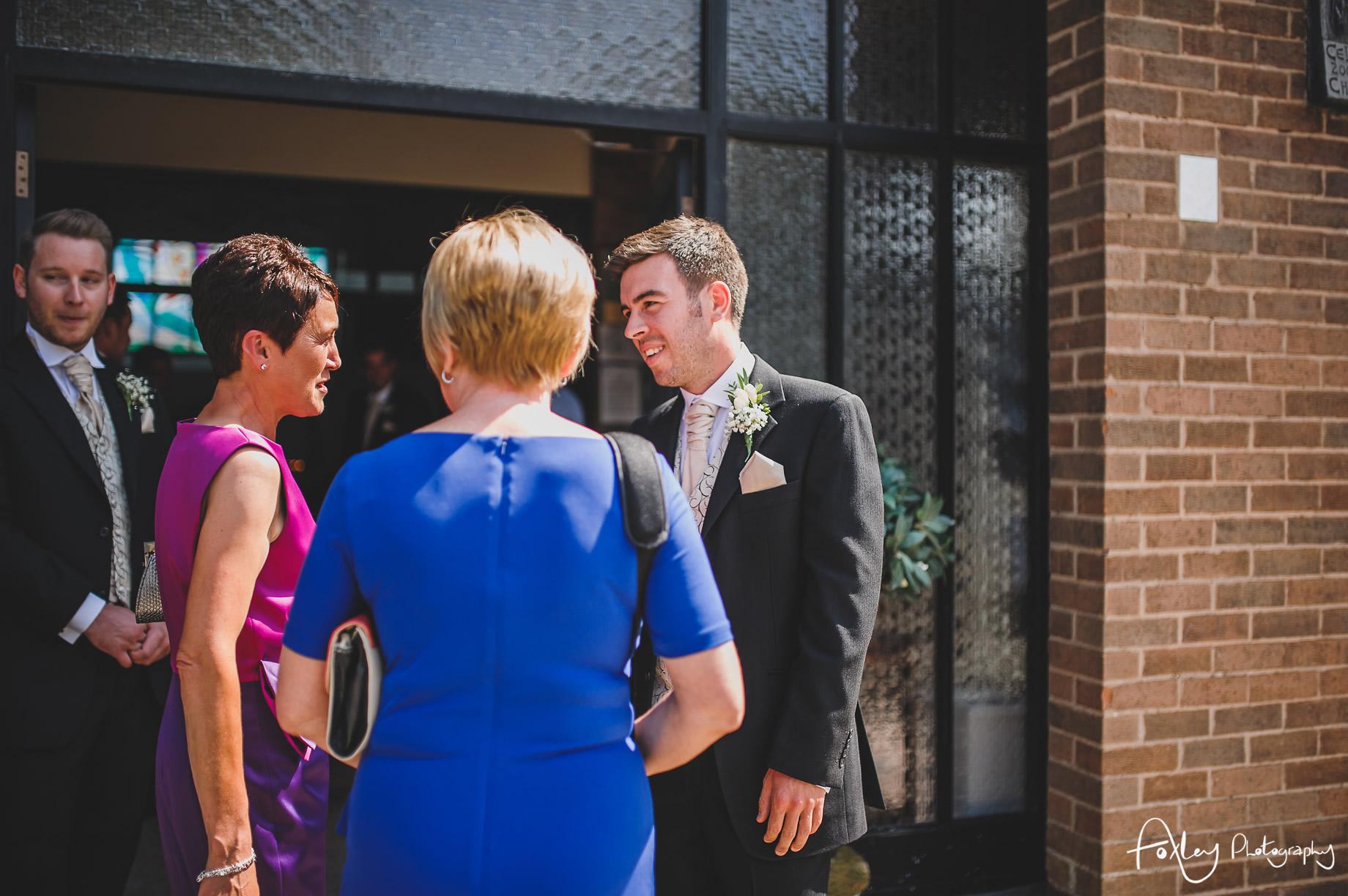Rebecca and Dan Wedding at Preston Marriott Hotel 036
