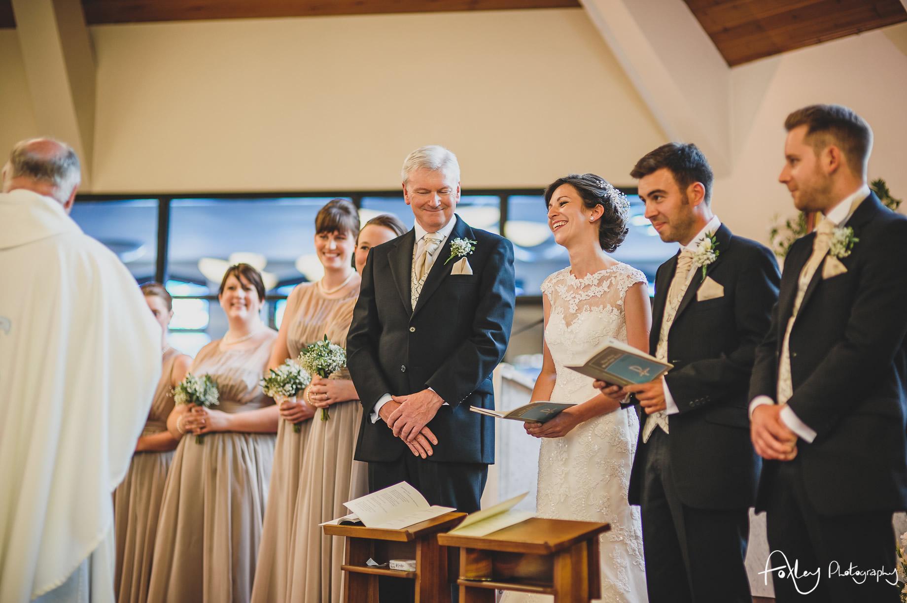Rebecca and Dan Wedding at Preston Marriott Hotel 058