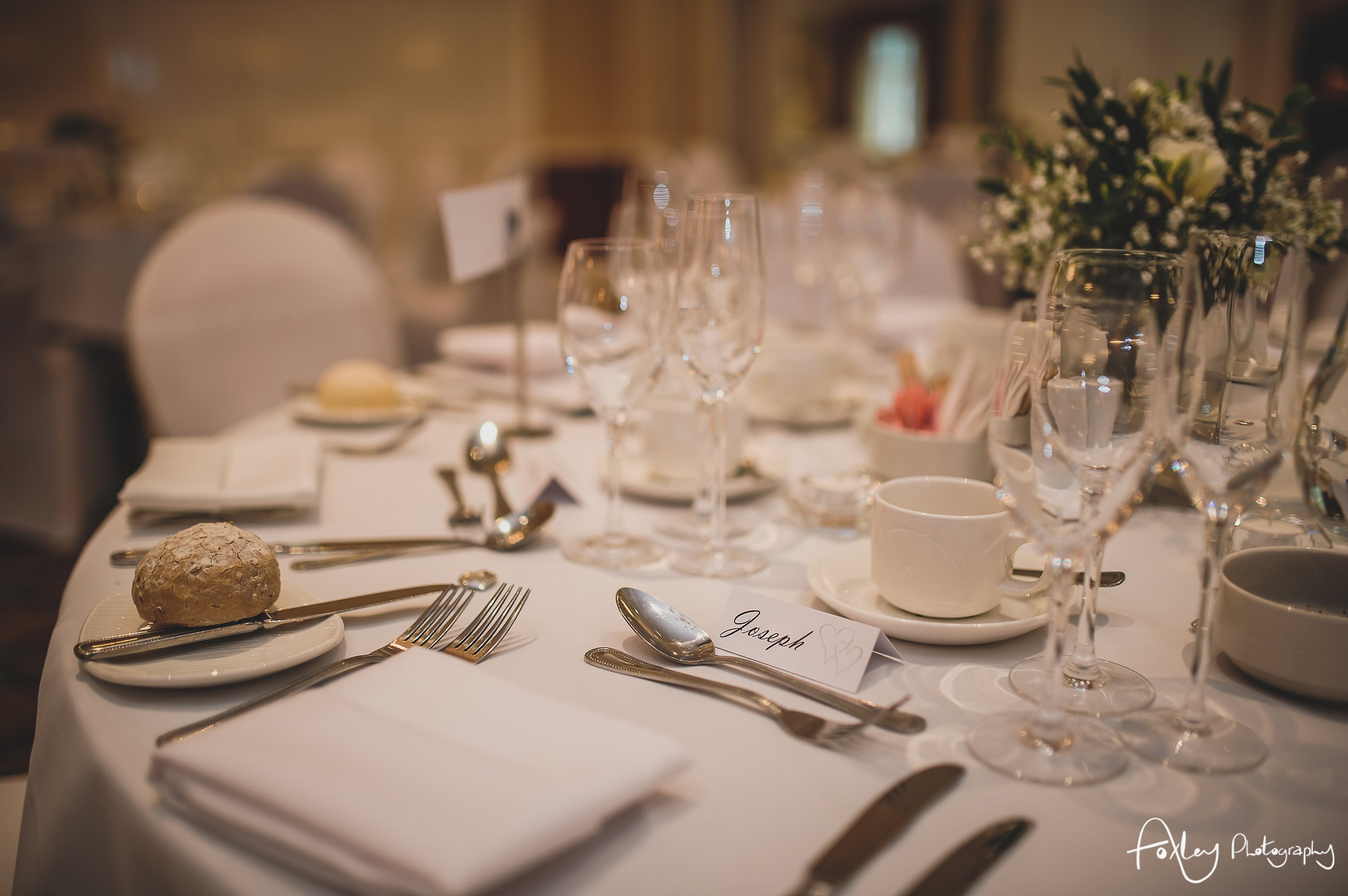 Rebecca and Dan Wedding at Preston Marriott Hotel 089