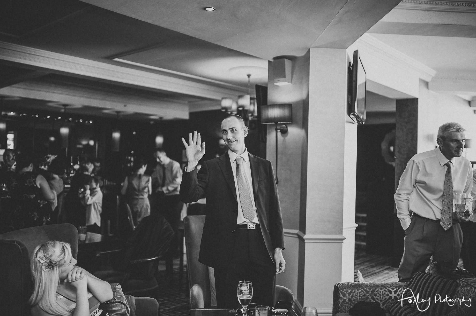 Rebecca and Dan Wedding at Preston Marriott Hotel 096