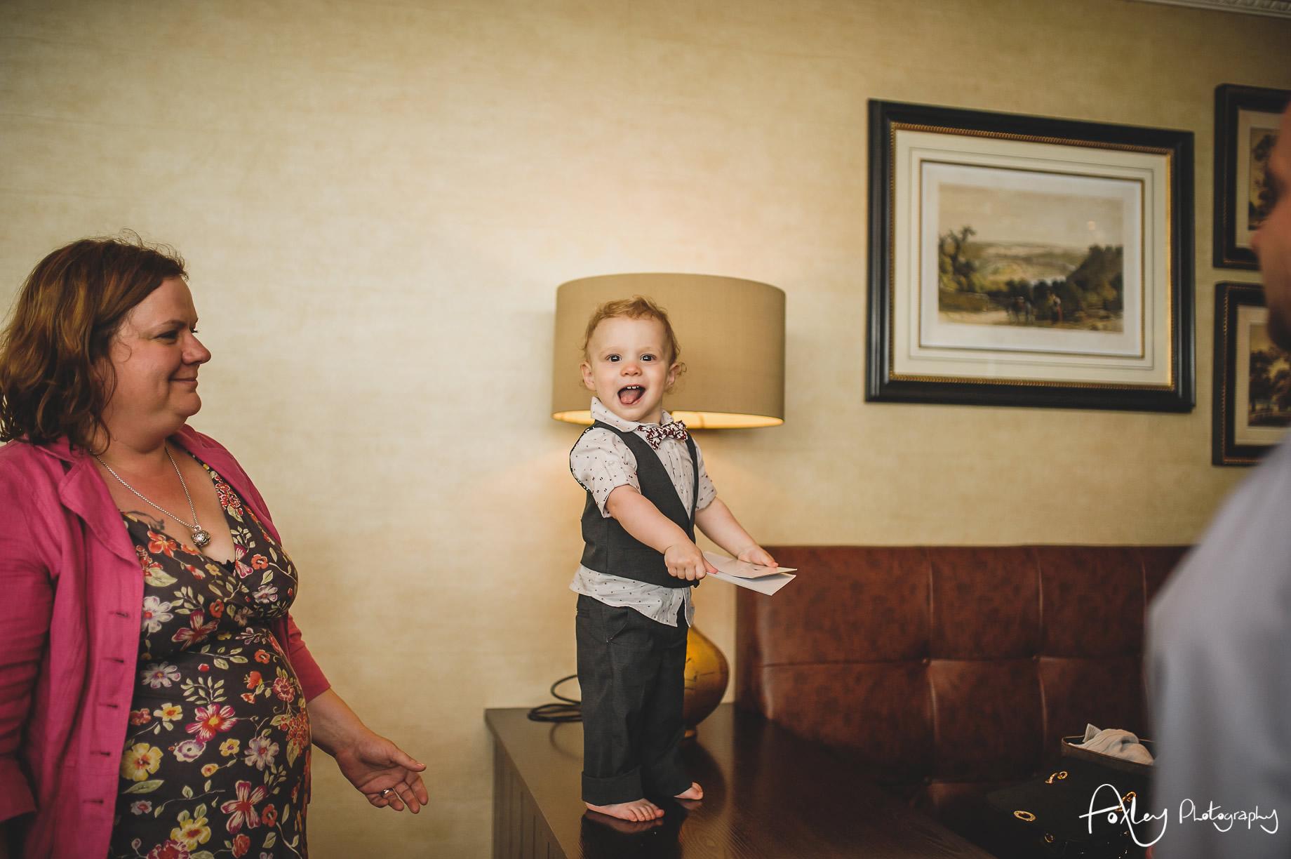 Rebecca and Dan Wedding at Preston Marriott Hotel 097