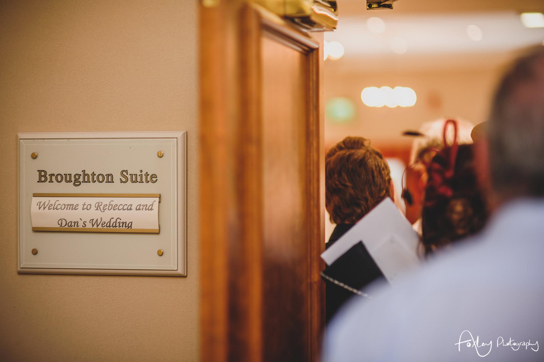 Rebecca and Dan Wedding at Preston Marriott Hotel 099