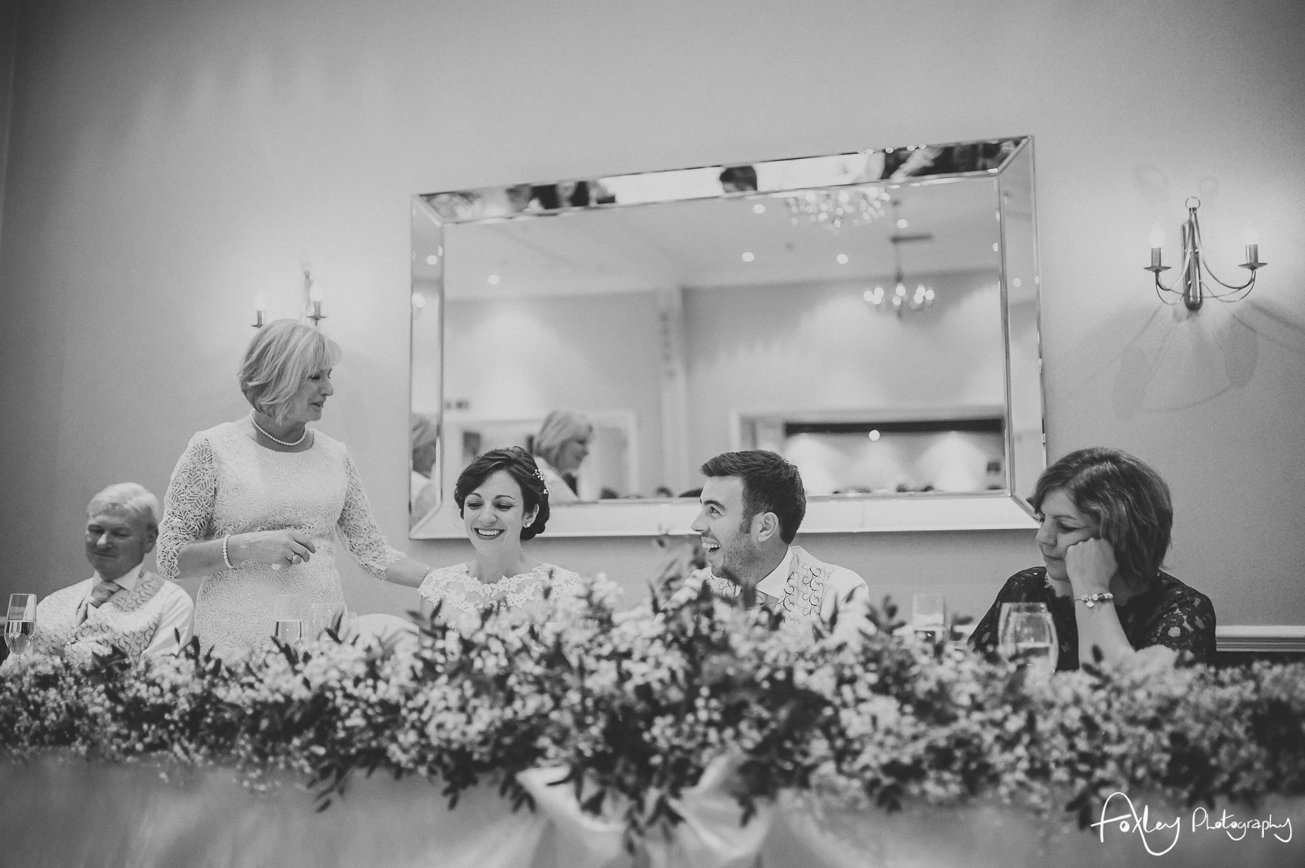 Rebecca and Dan Wedding at Preston Marriott Hotel 116