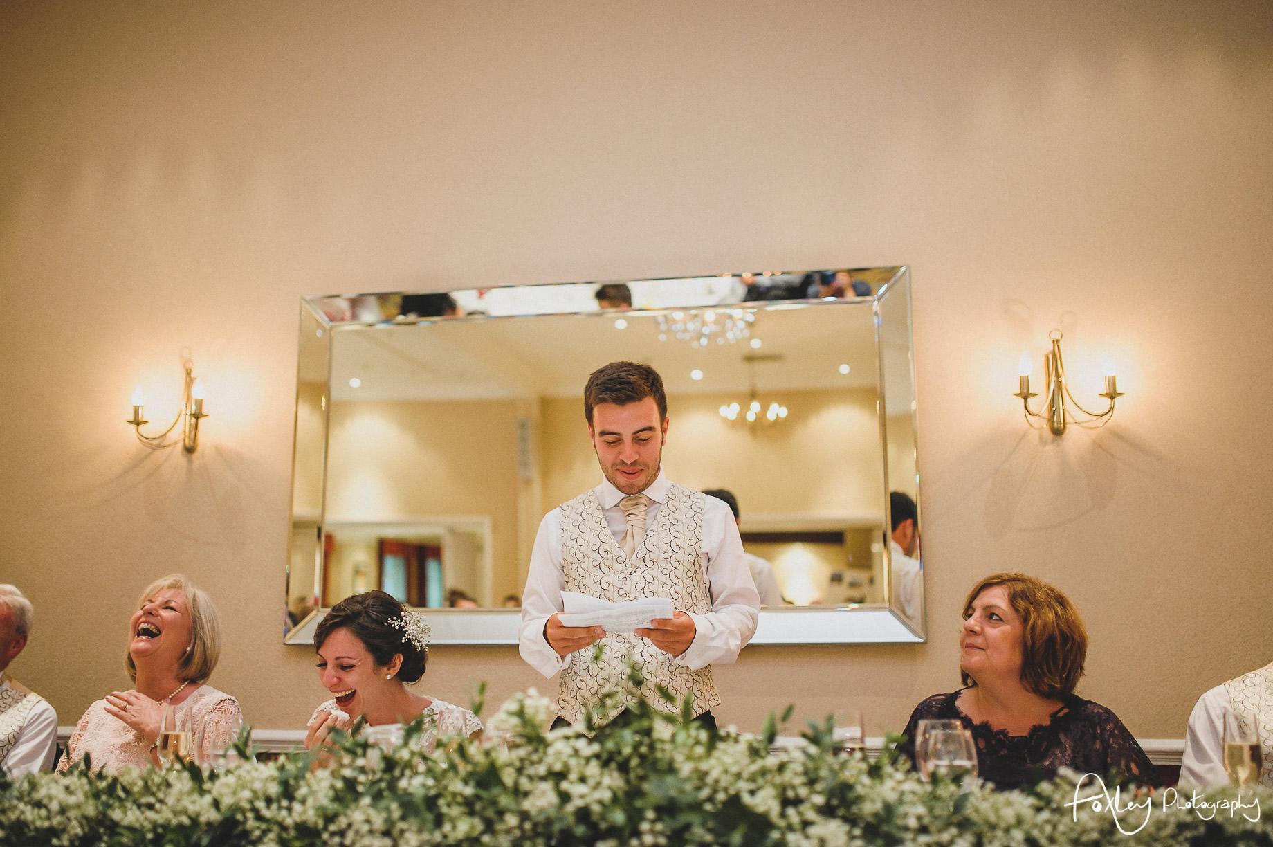 Rebecca and Dan Wedding at Preston Marriott Hotel 119