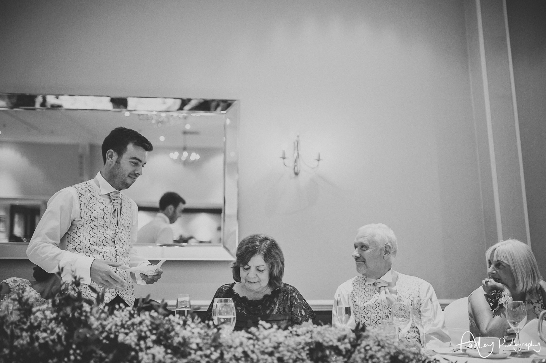 Rebecca and Dan Wedding at Preston Marriott Hotel 120