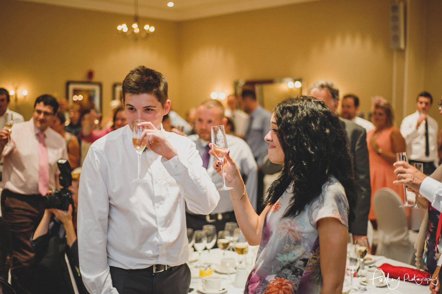 Rebecca and Dan Wedding at Preston Marriott Hotel 123
