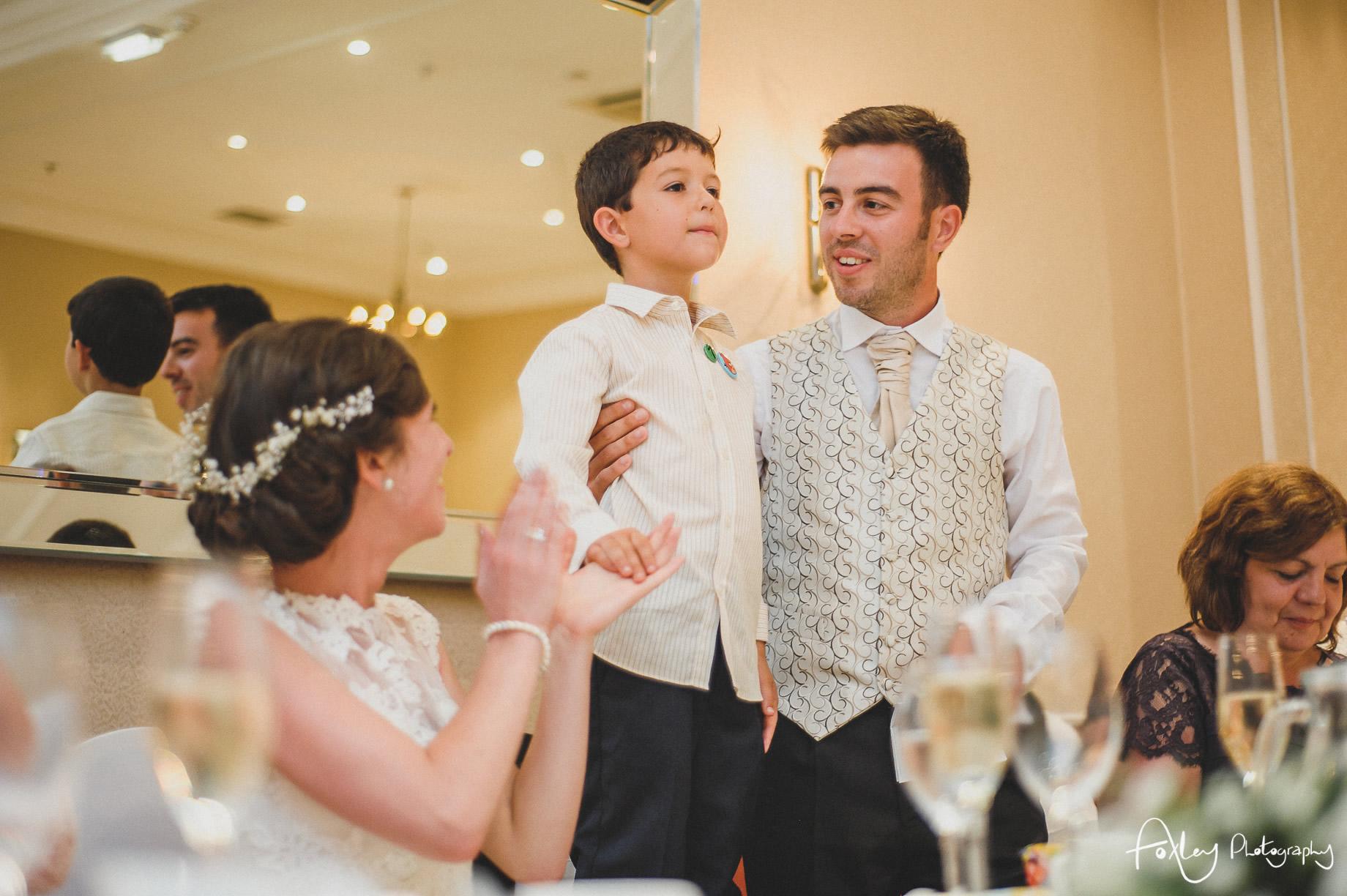 Rebecca and Dan Wedding at Preston Marriott Hotel 124