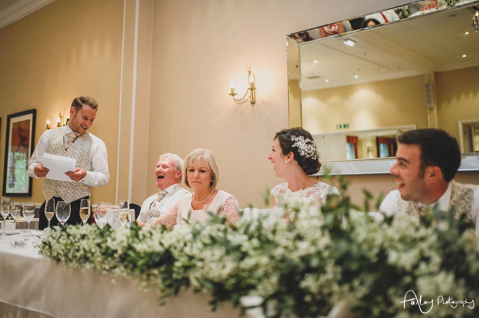 Rebecca and Dan Wedding at Preston Marriott Hotel 125