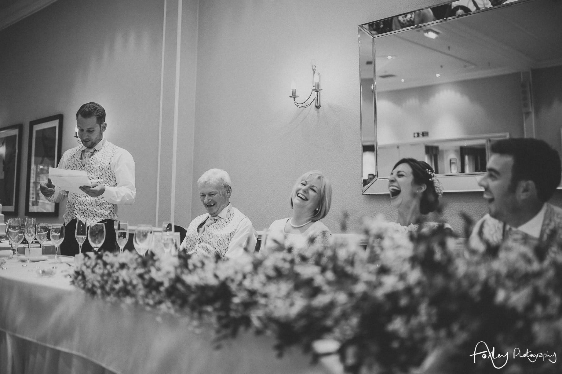 Rebecca and Dan Wedding at Preston Marriott Hotel 126