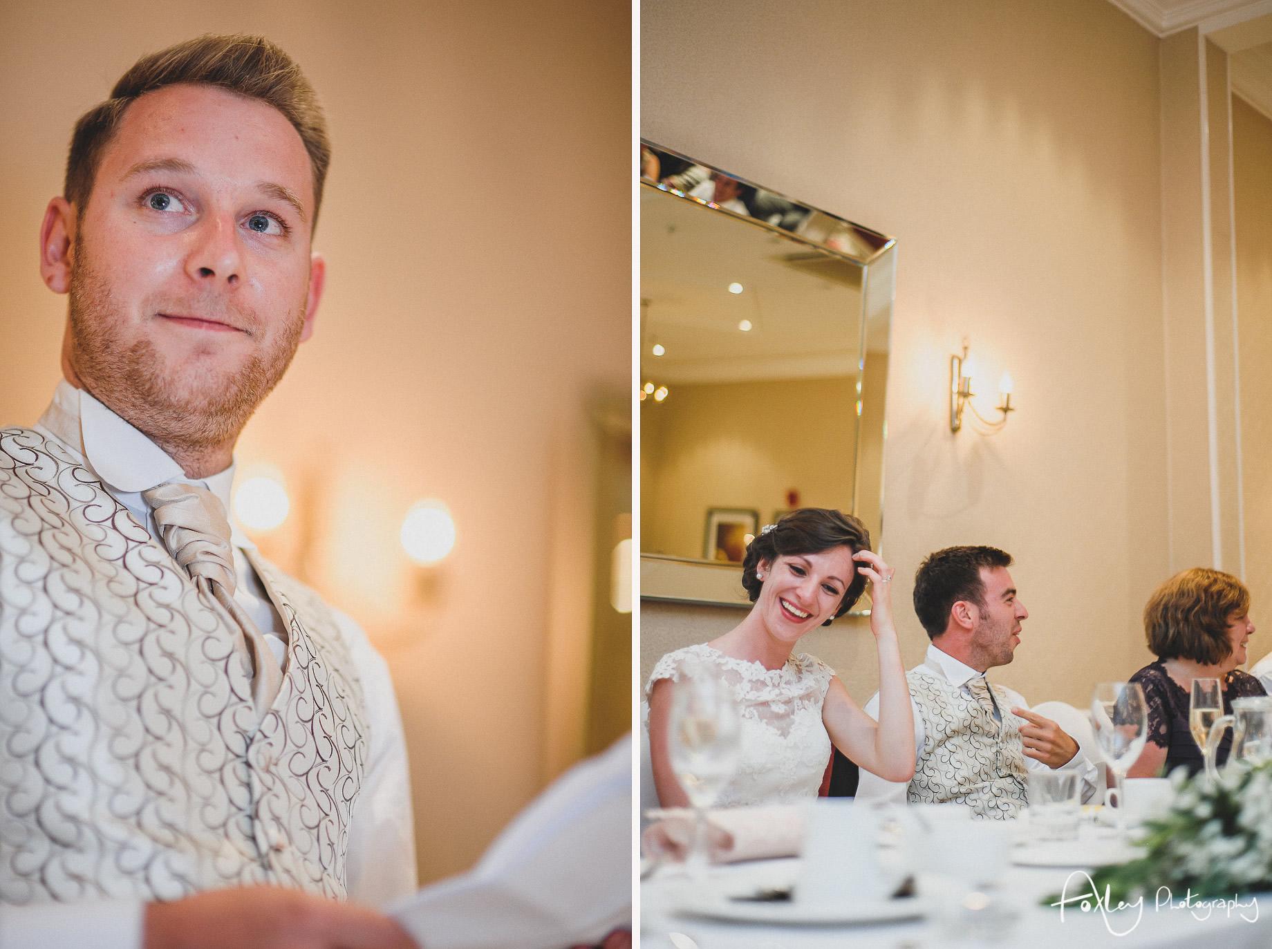 Rebecca and Dan Wedding at Preston Marriott Hotel 128
