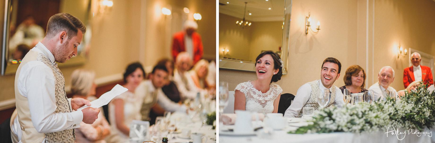 Rebecca and Dan Wedding at Preston Marriott Hotel 129