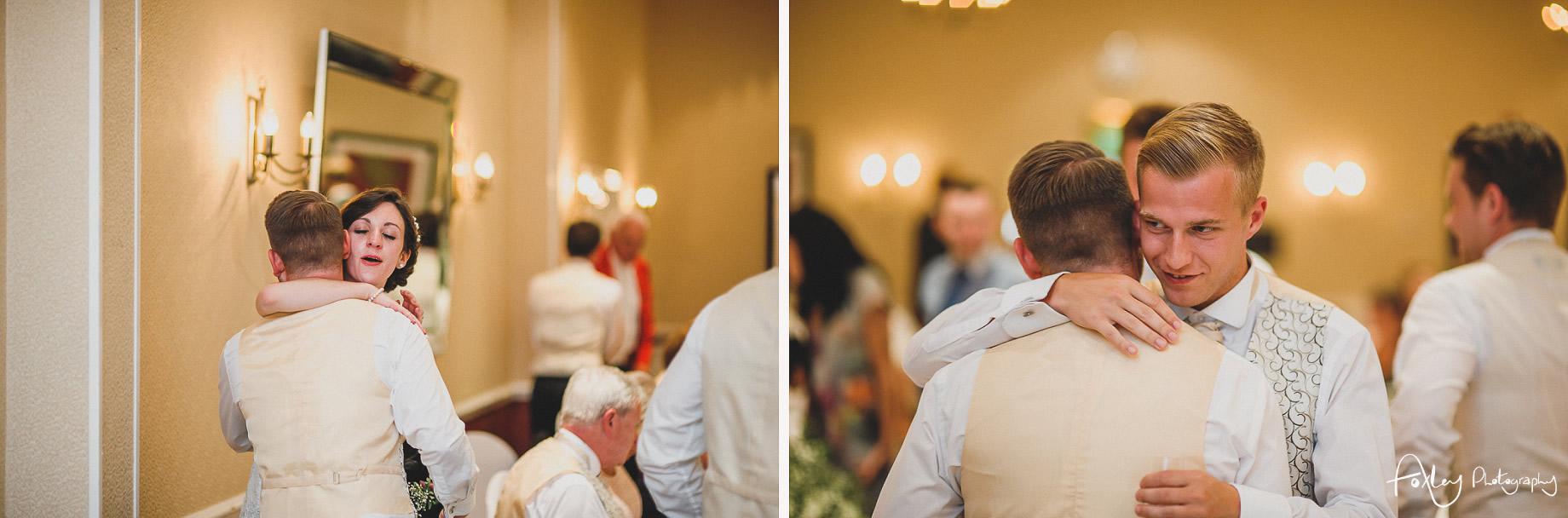 Rebecca and Dan Wedding at Preston Marriott Hotel 131