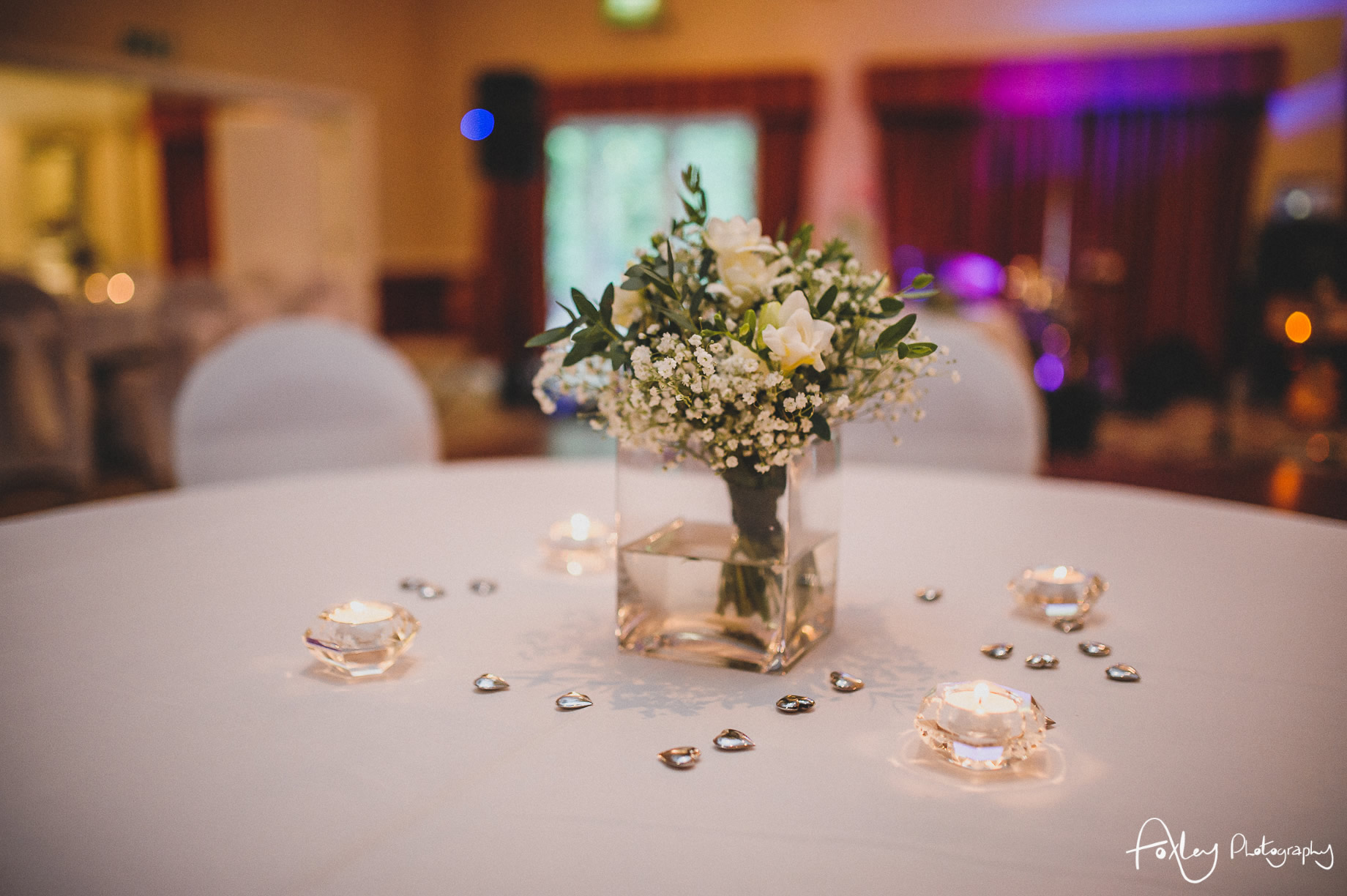 Rebecca and Dan Wedding at Preston Marriott Hotel 138
