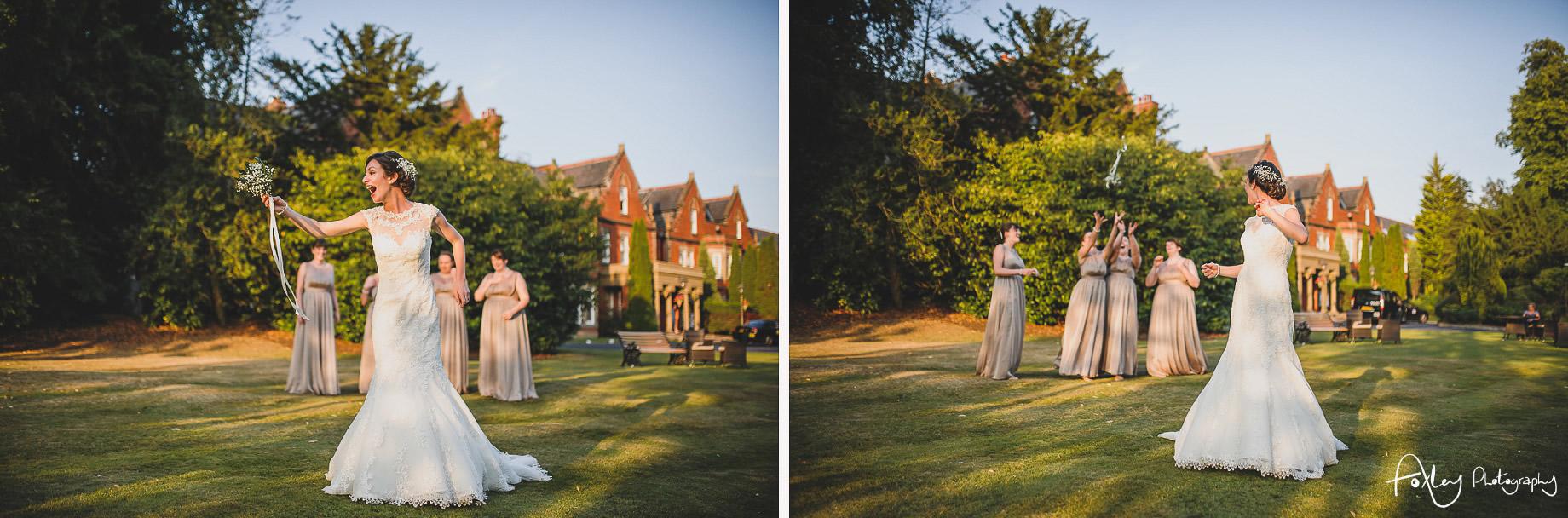 Rebecca and Dan Wedding at Preston Marriott Hotel 141