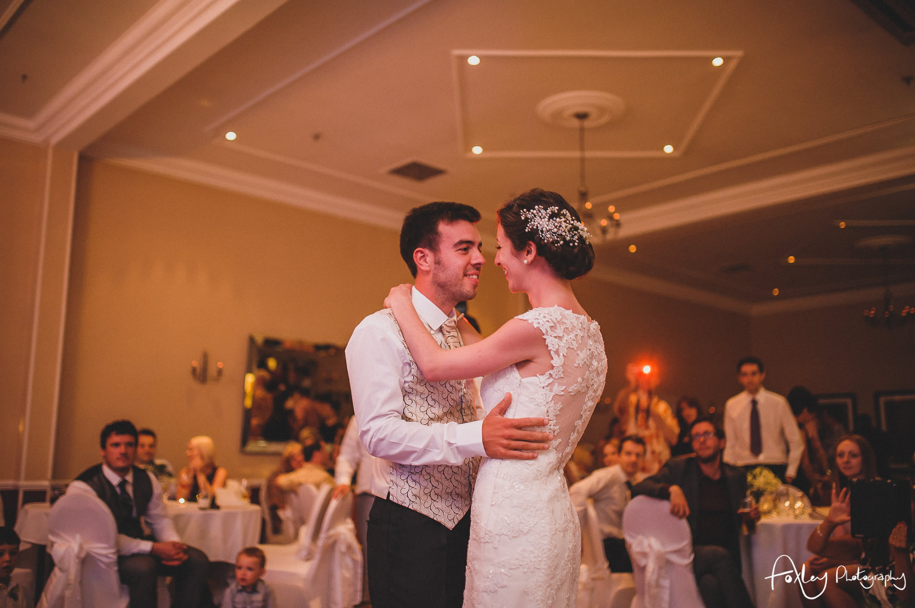 Rebecca and Dan Wedding at Preston Marriott Hotel 151