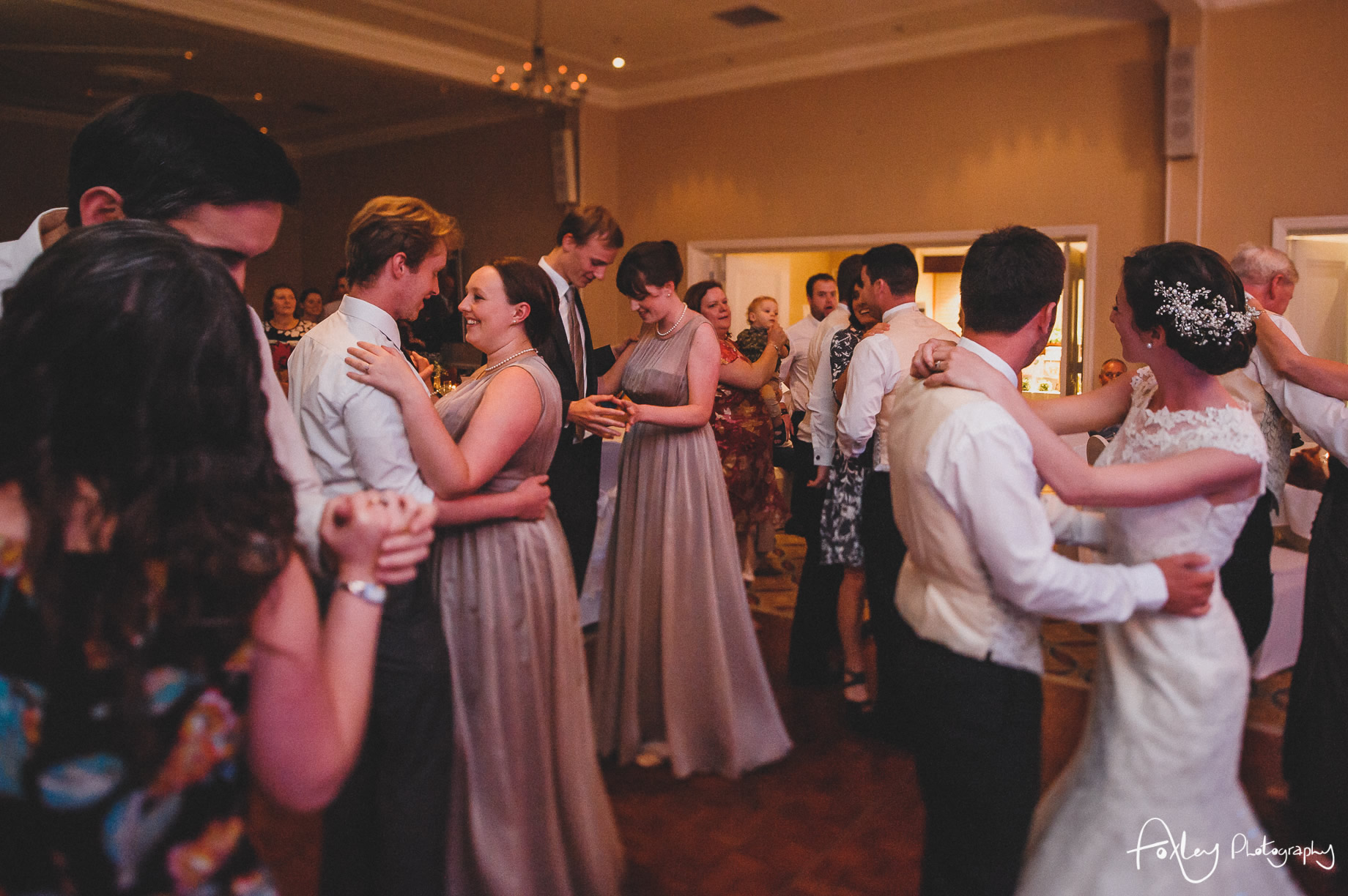 Rebecca and Dan Wedding at Preston Marriott Hotel 154