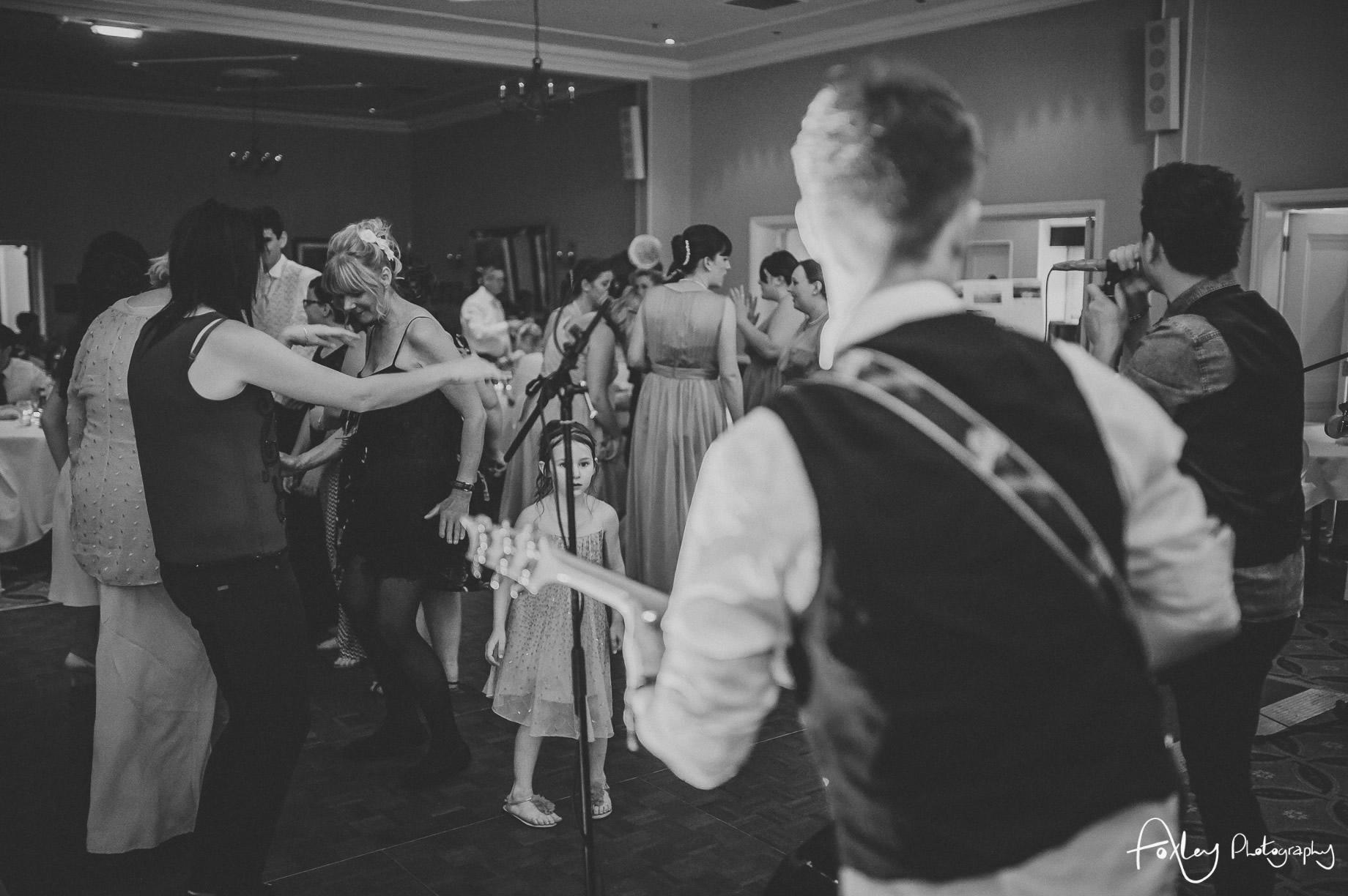 Rebecca and Dan Wedding at Preston Marriott Hotel 161