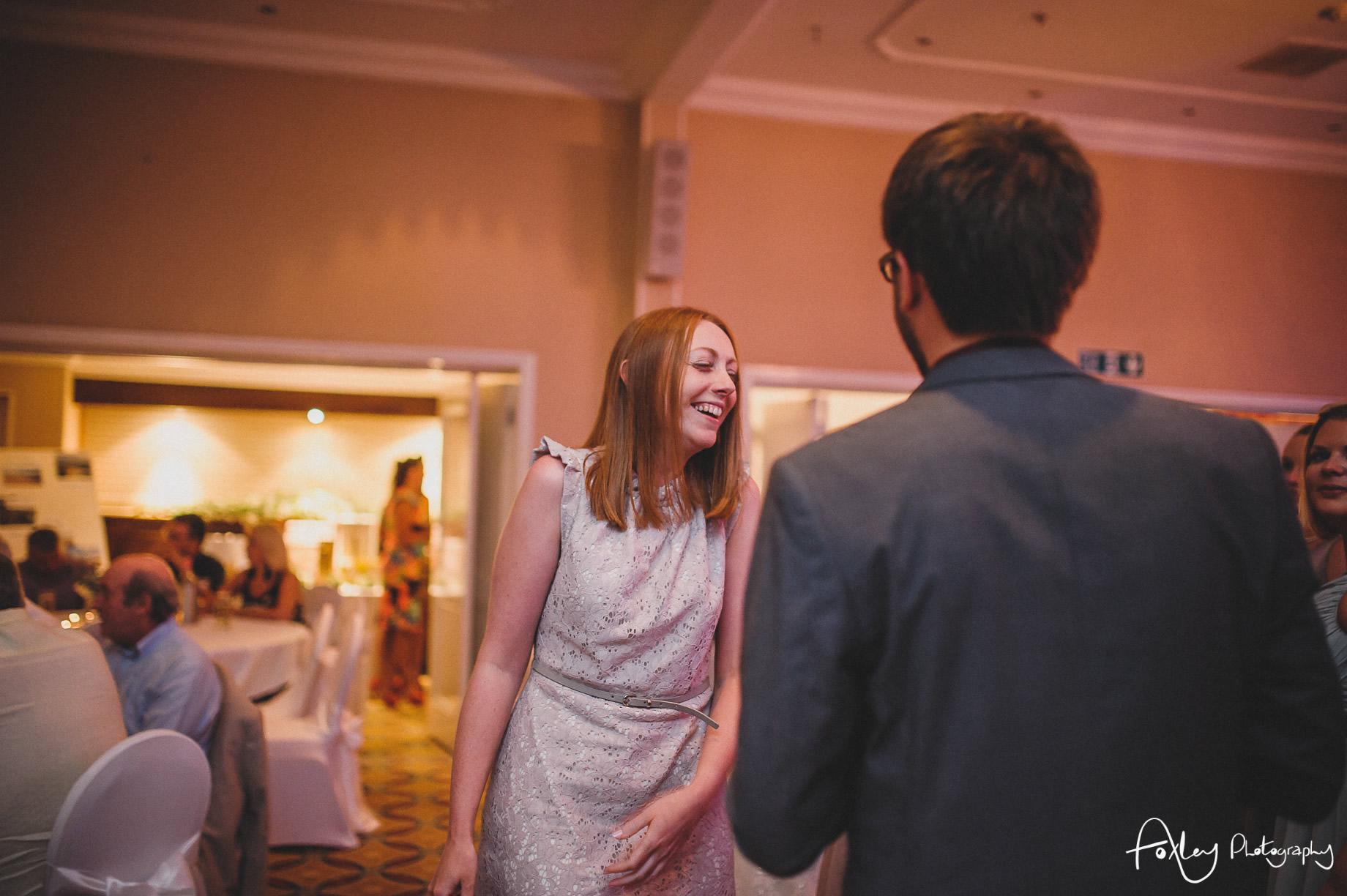 Rebecca and Dan Wedding at Preston Marriott Hotel 163