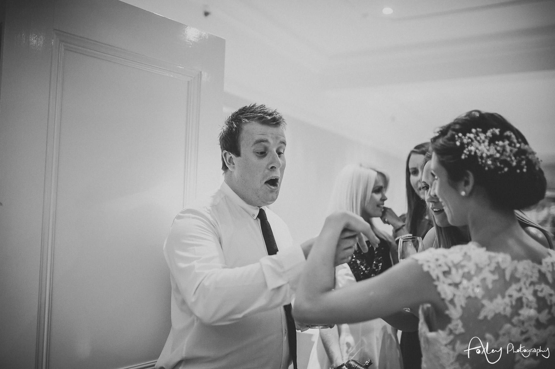 Rebecca and Dan Wedding at Preston Marriott Hotel 165