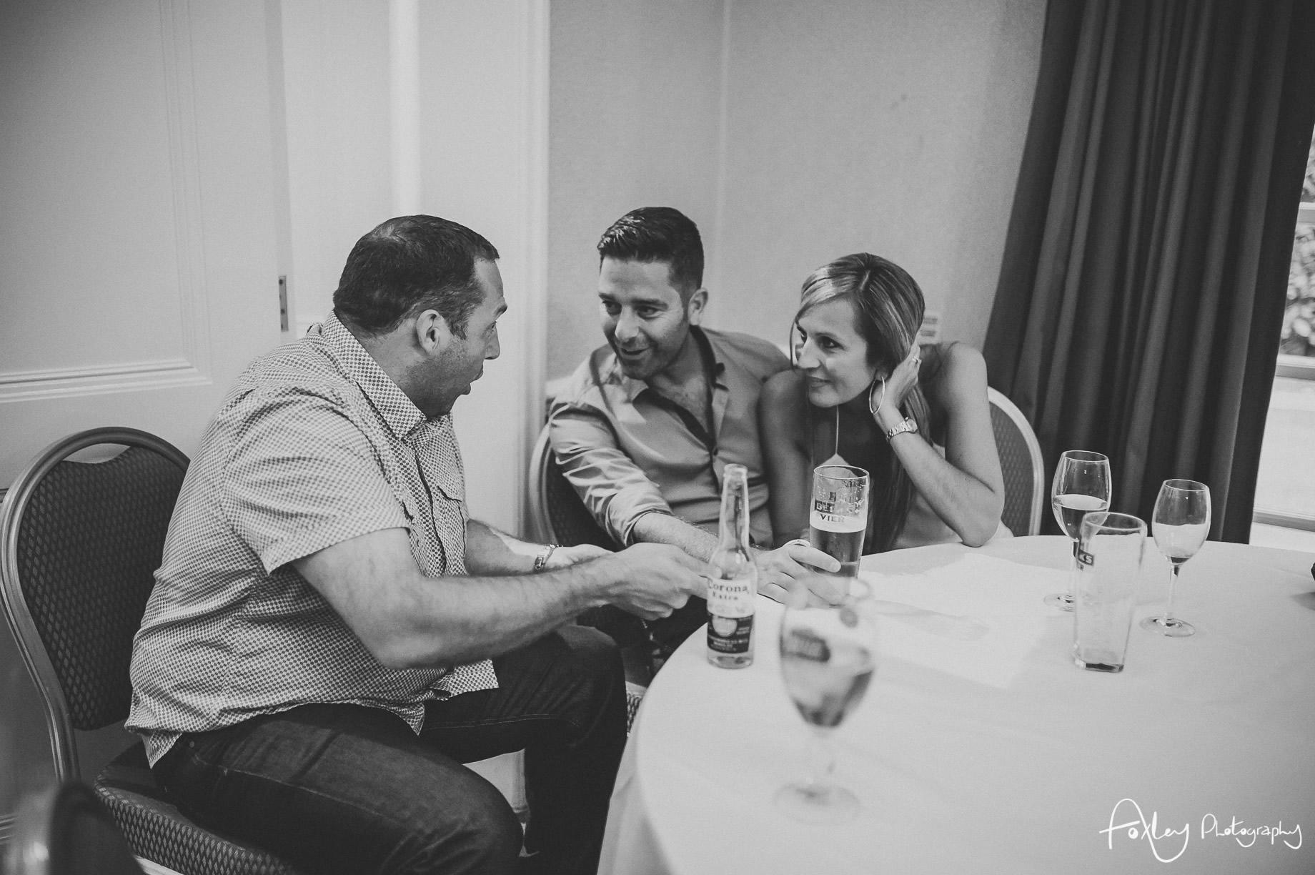 Rebecca and Dan Wedding at Preston Marriott Hotel 168