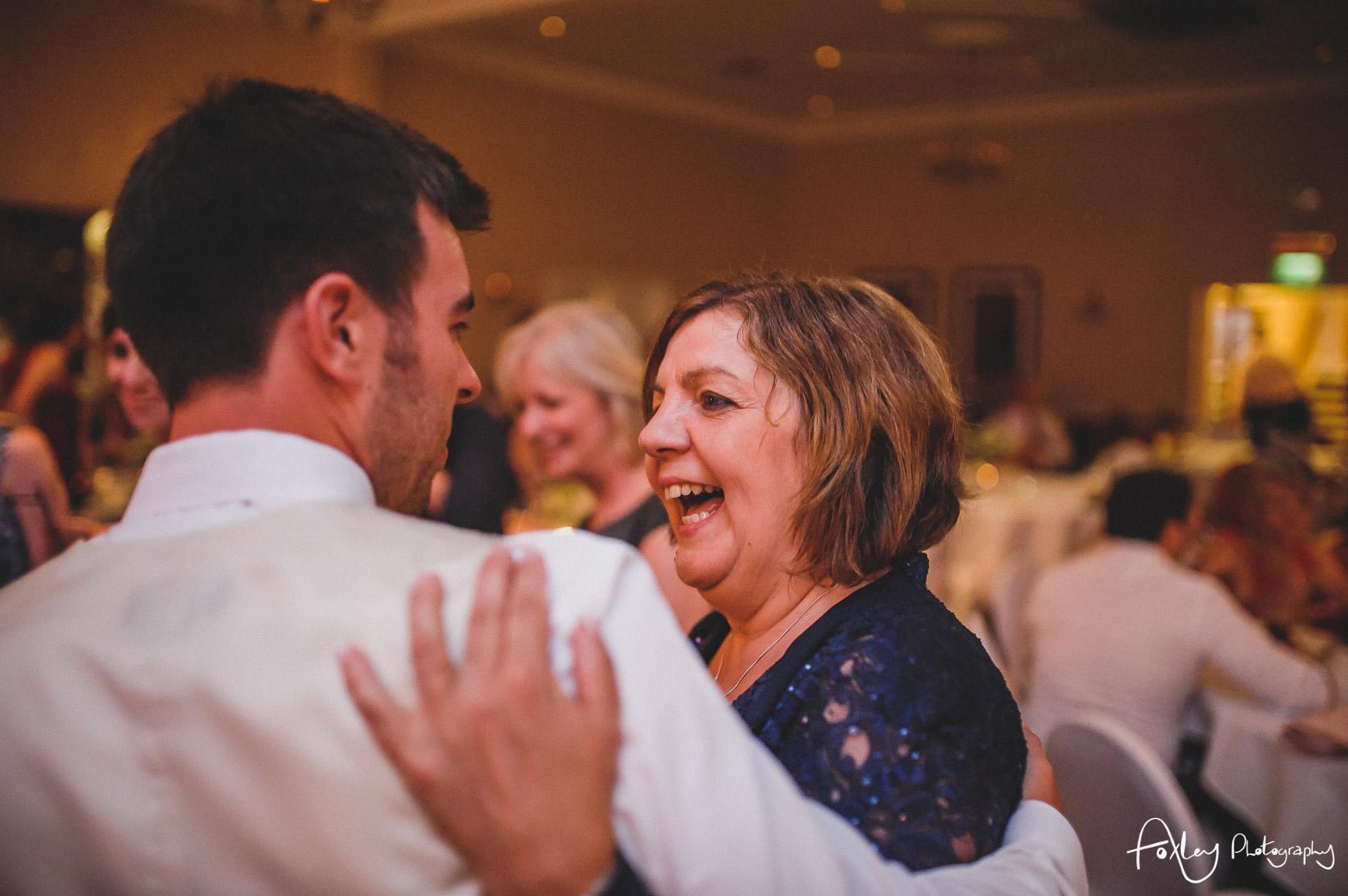 Rebecca and Dan Wedding at Preston Marriott Hotel 171
