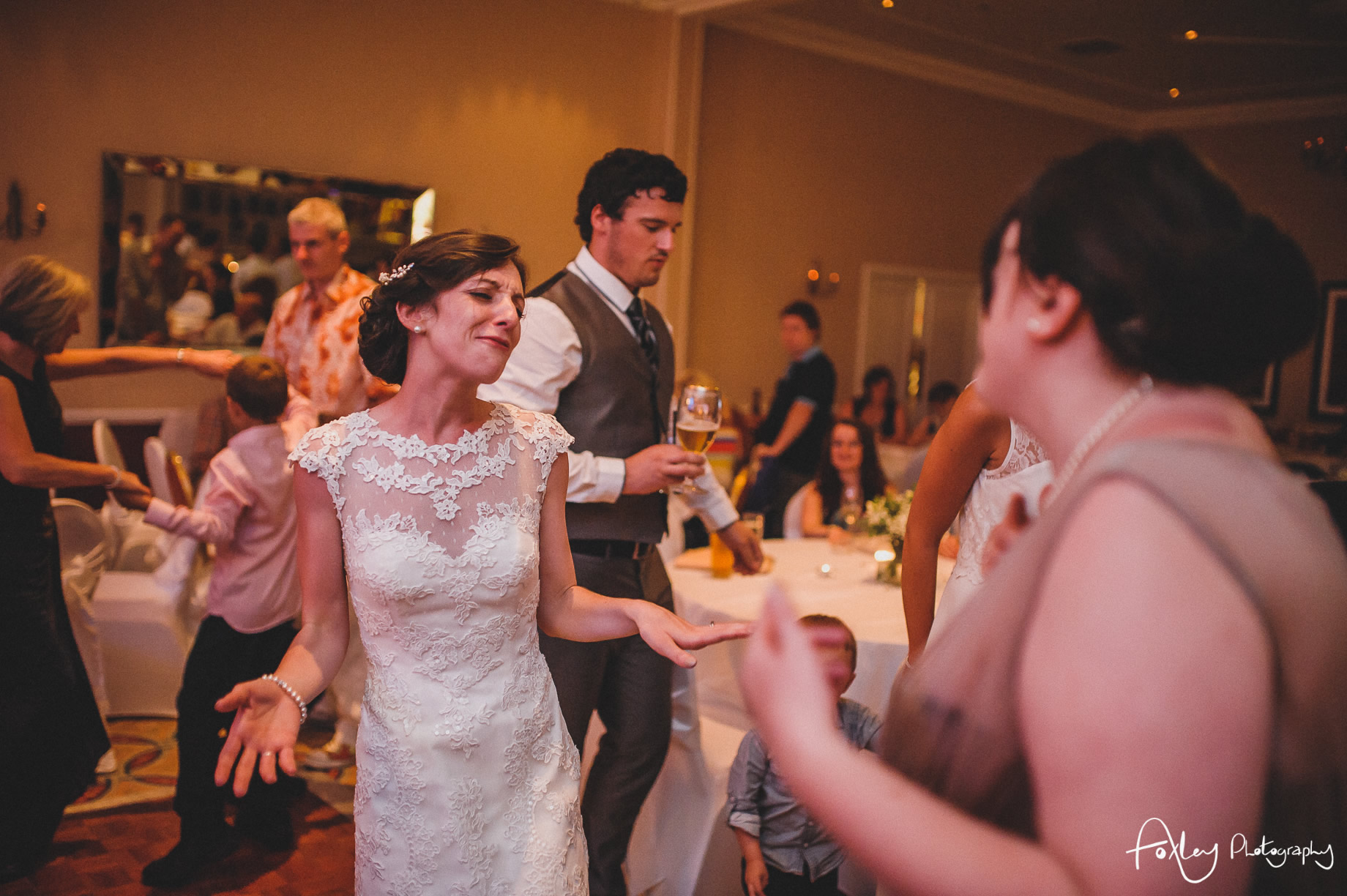 Rebecca and Dan Wedding at Preston Marriott Hotel 173