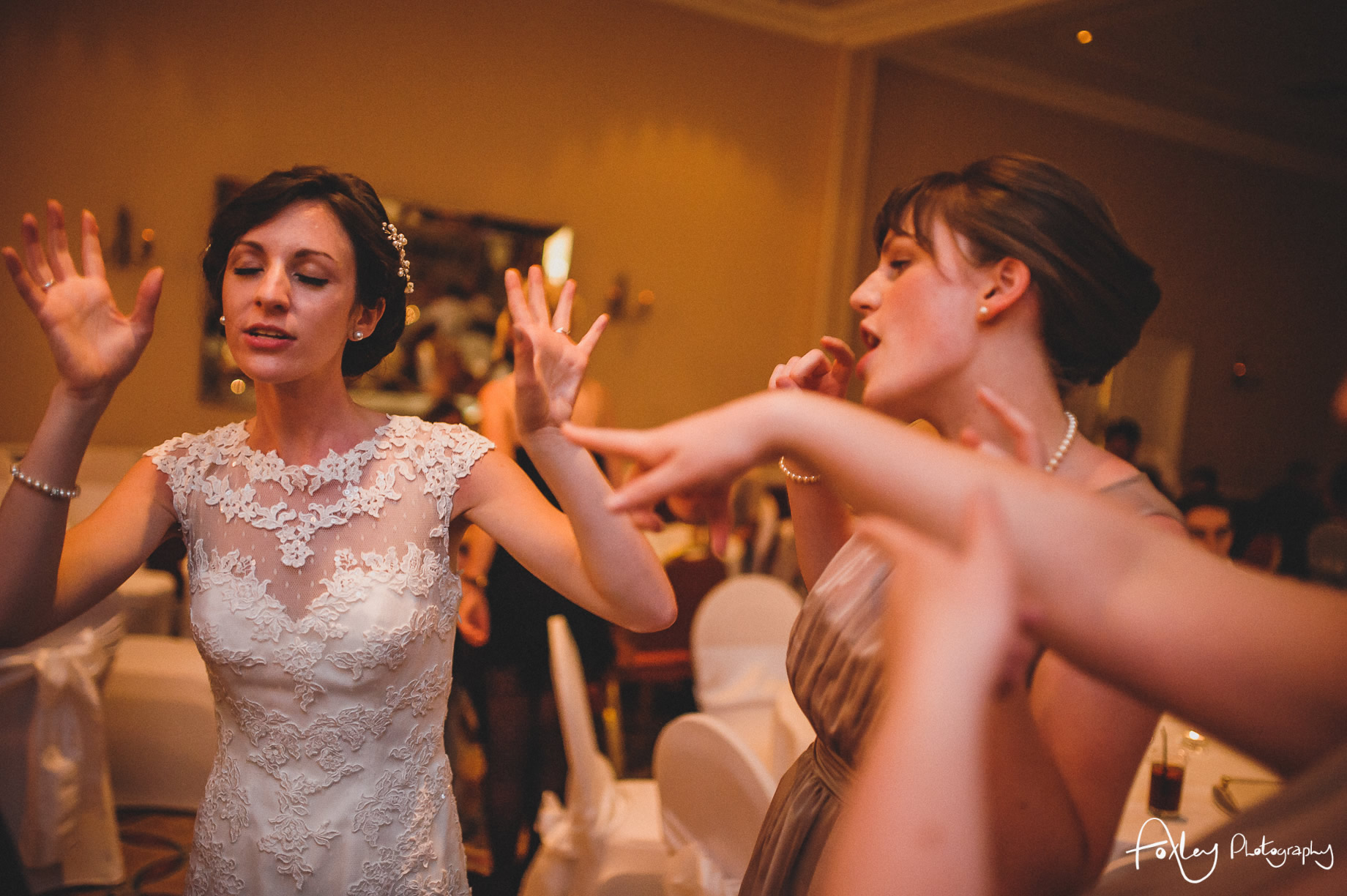 Rebecca and Dan Wedding at Preston Marriott Hotel 175