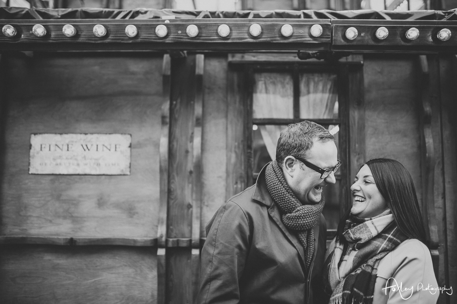Angela and Andrew's Pre-Wedding Shoot at Manchester Christmas Markets 005