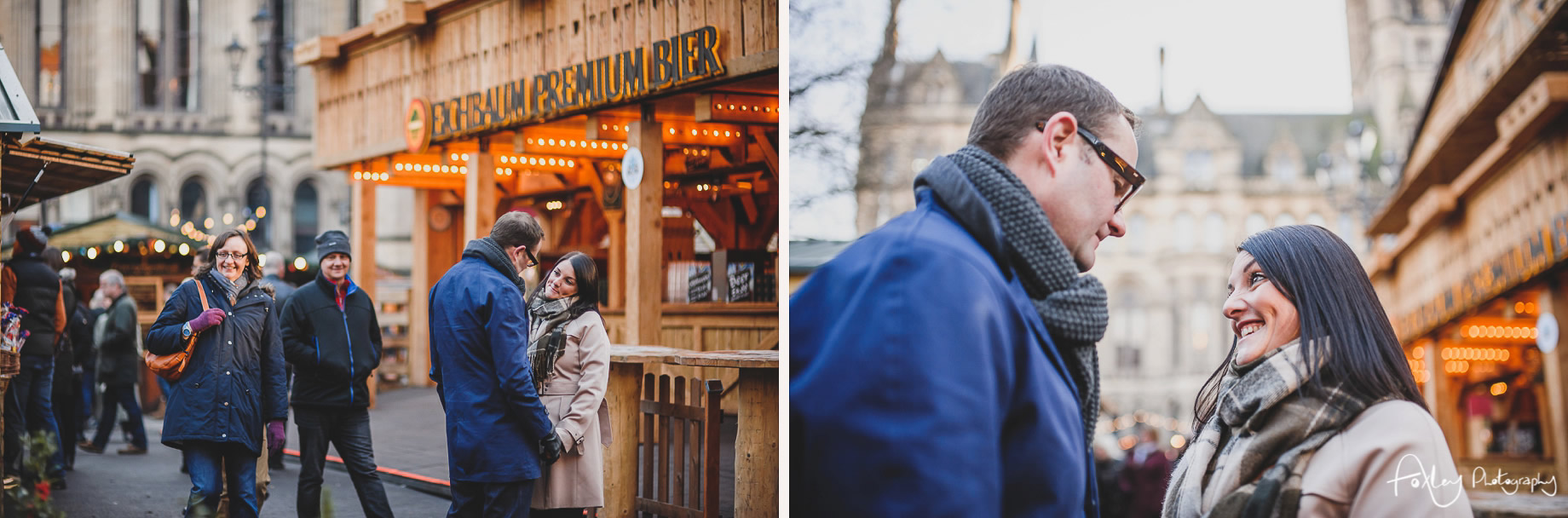 Angela and Andrew's Pre-Wedding Shoot at Manchester Christmas Markets 006