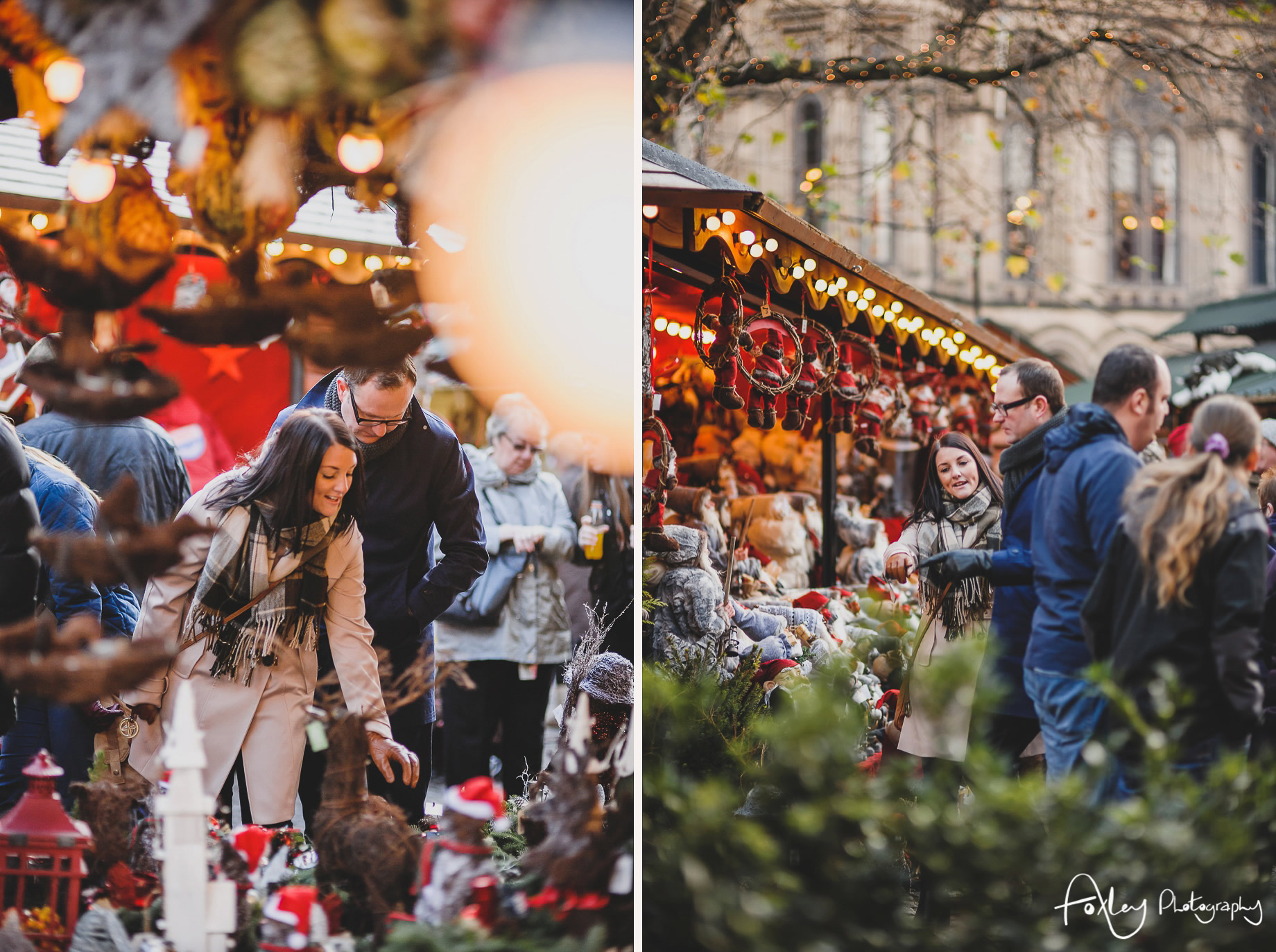 Angela and Andrew's Pre-Wedding Shoot at Manchester Christmas Markets 009