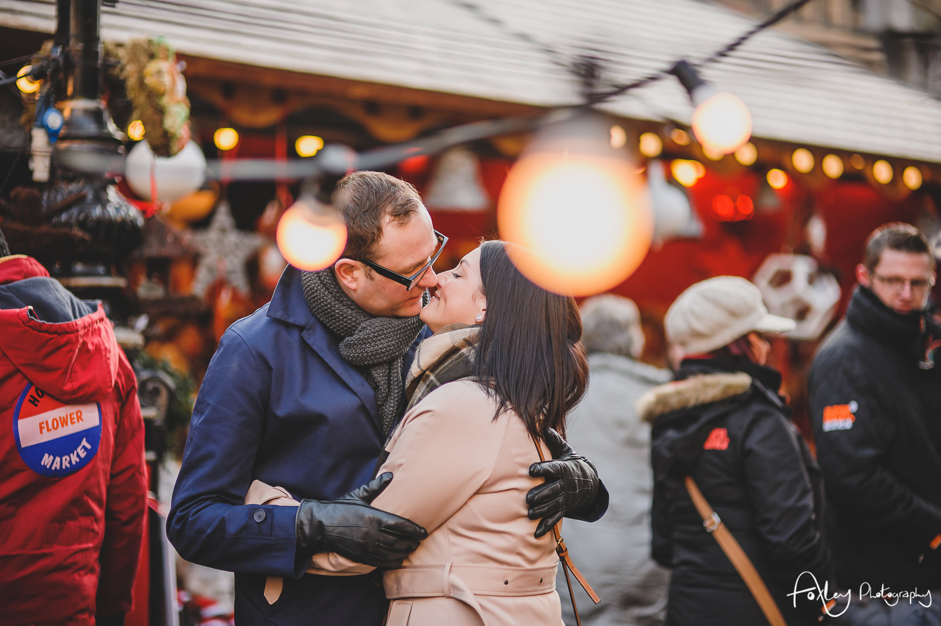 Angela and Andrew's Pre-Wedding Shoot at Manchester Christmas Markets 010