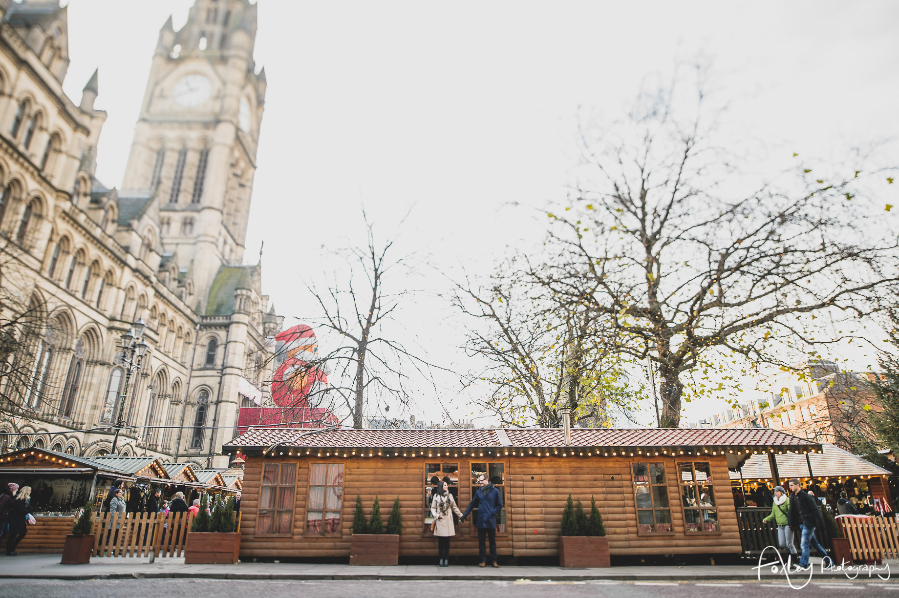 Angela and Andrew's Pre-Wedding Shoot at Manchester Christmas Markets 011