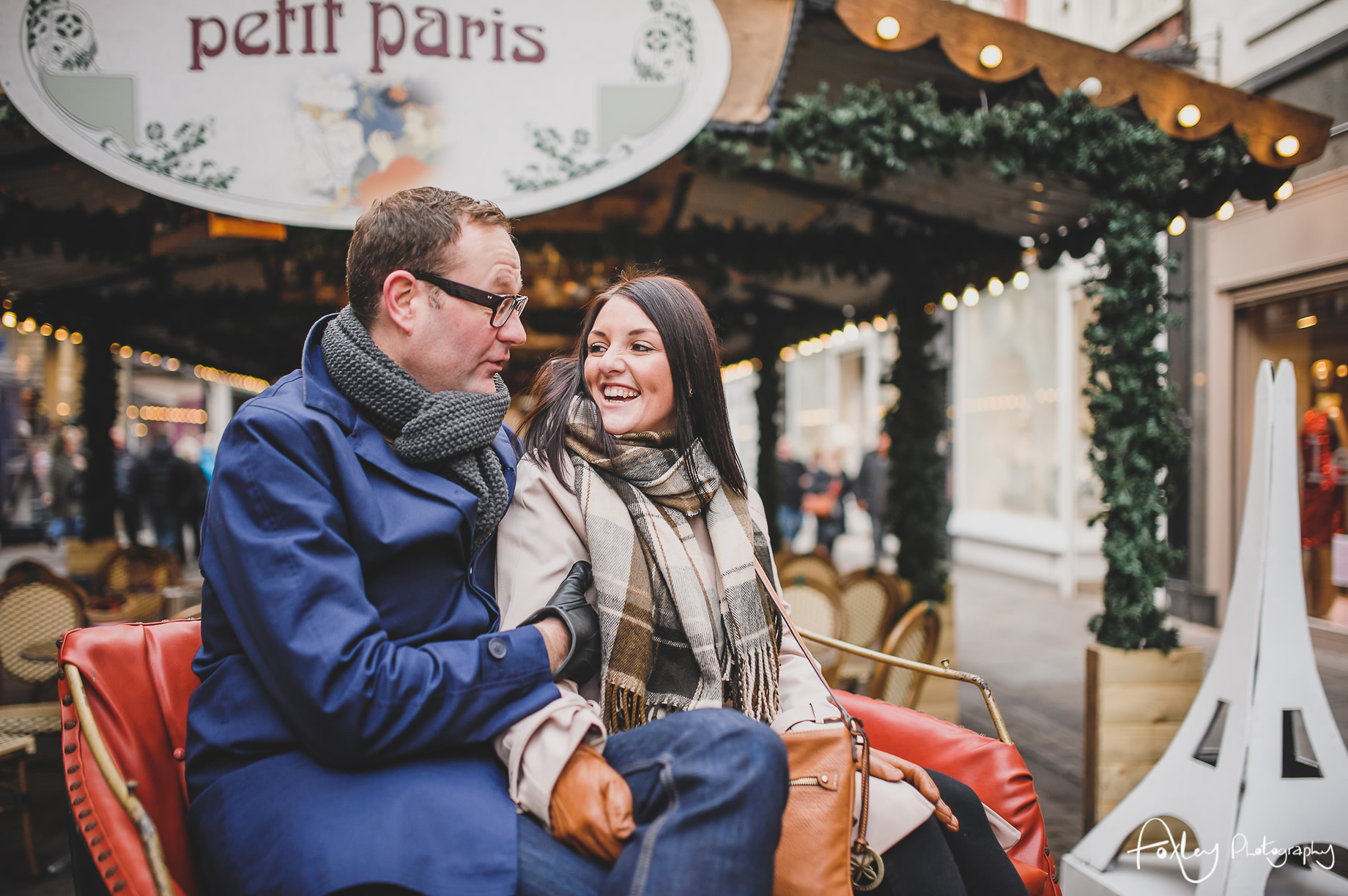 Angela and Andrew's Pre-Wedding Shoot at Manchester Christmas Markets 015