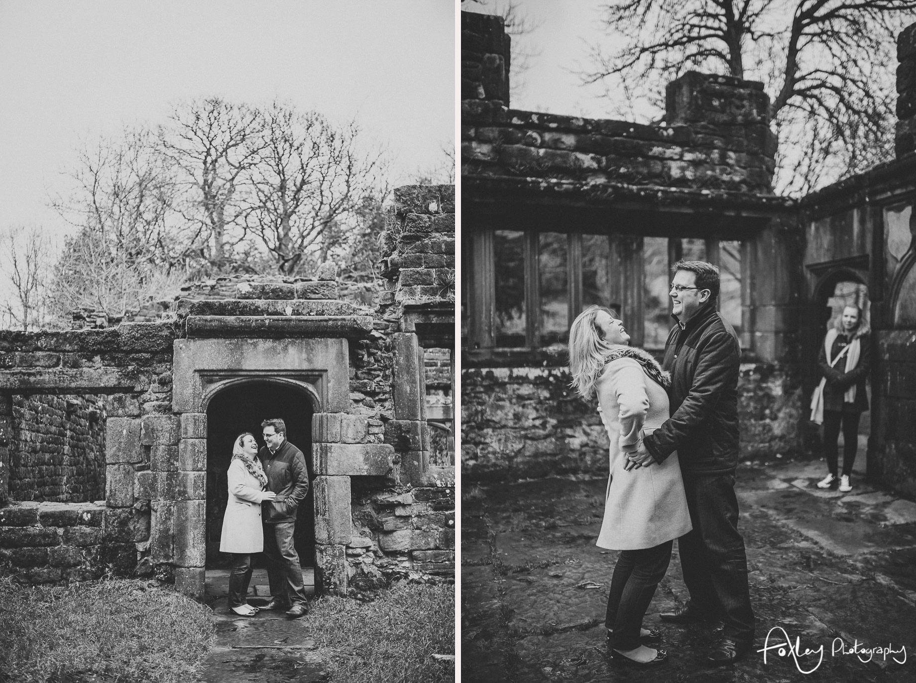 Rebecca and Paul's Pre-Wedding Shoot at Wycoller Country Park 001