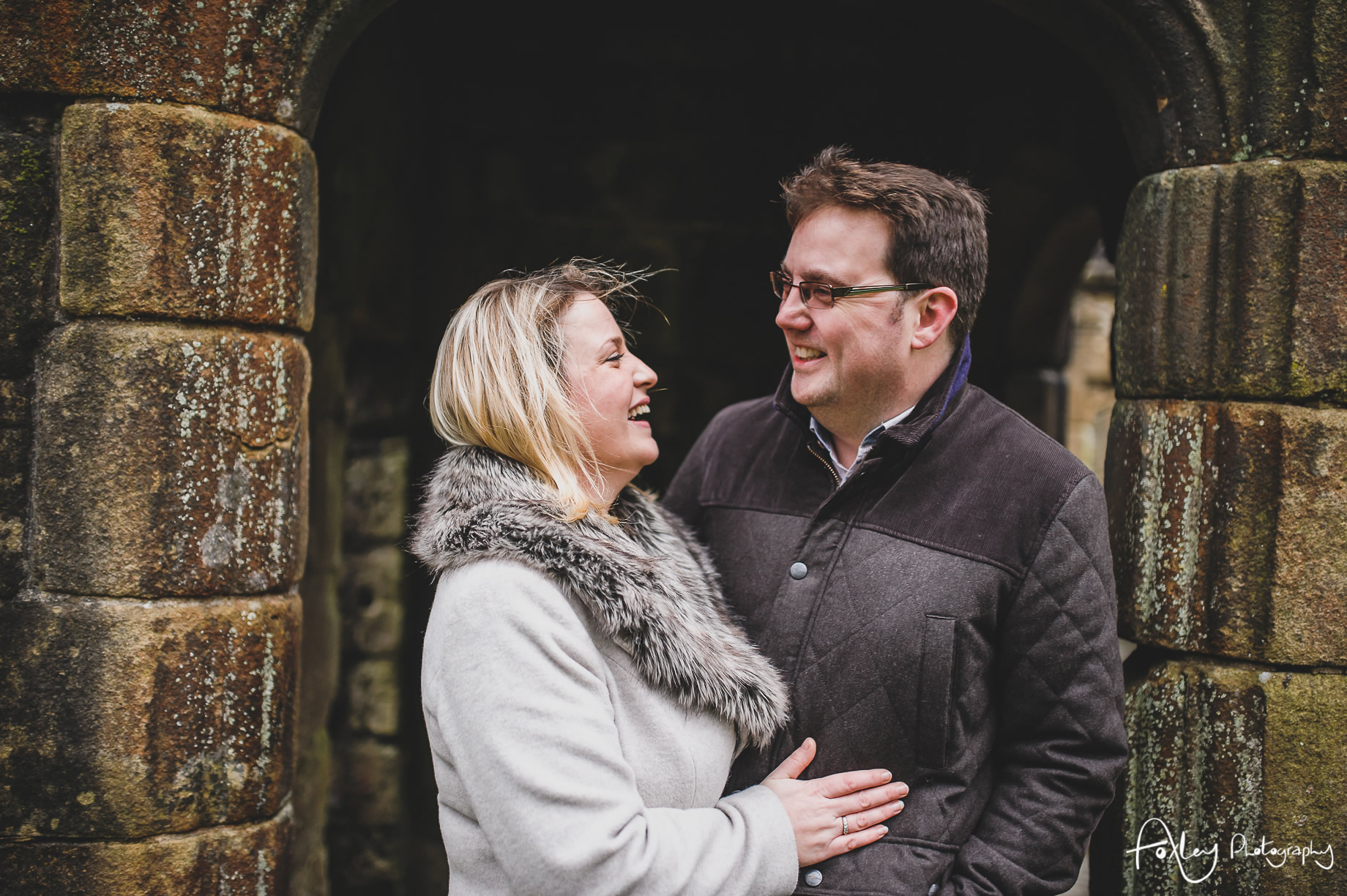 Rebecca and Paul's Pre-Wedding Shoot at Wycoller Country Park 002