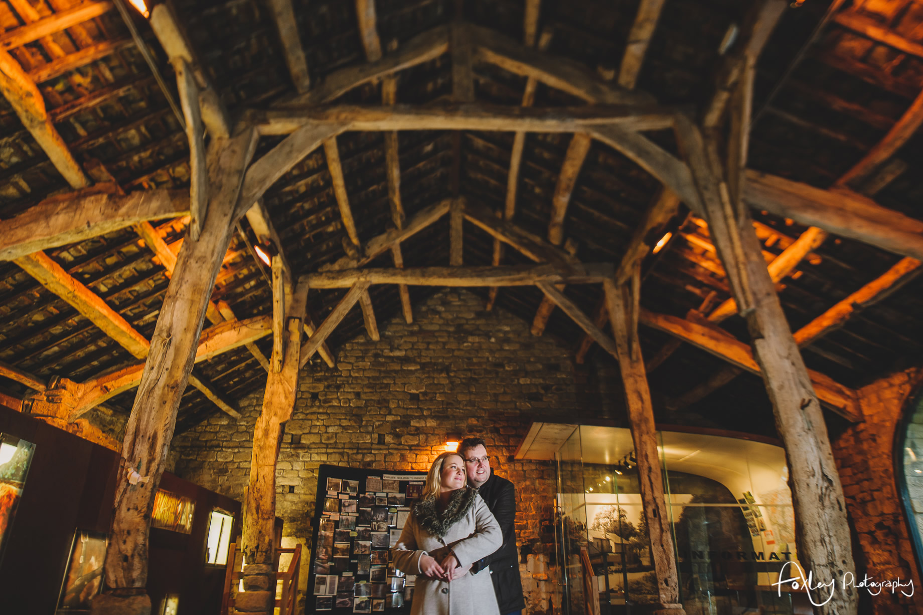 Rebecca and Paul's Pre-Wedding Shoot at Wycoller Country Park 007