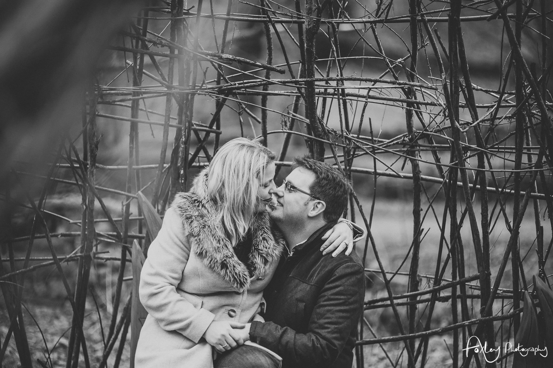 Rebecca and Paul's Pre-Wedding Shoot at Wycoller Country Park 009