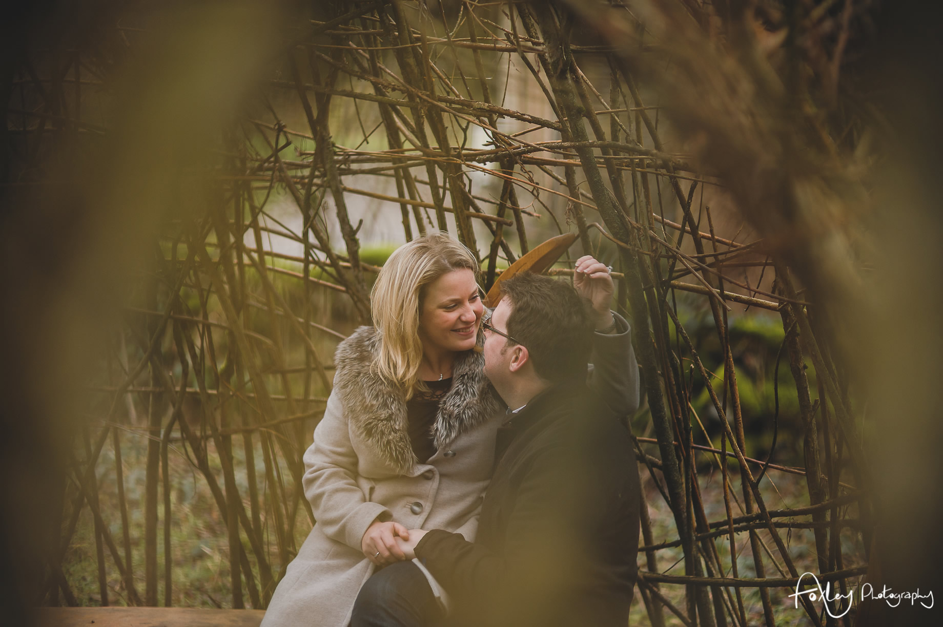 Rebecca and Paul's Pre-Wedding Shoot at Wycoller Country Park 011