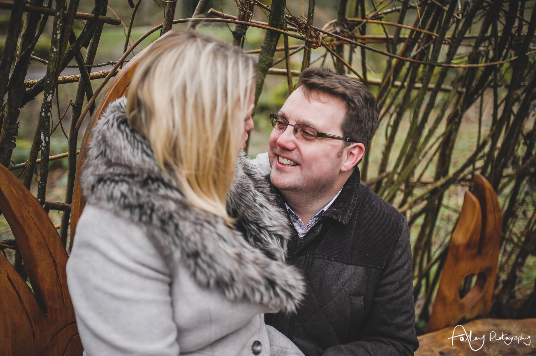Rebecca and Paul's Pre-Wedding Shoot at Wycoller Country Park 012
