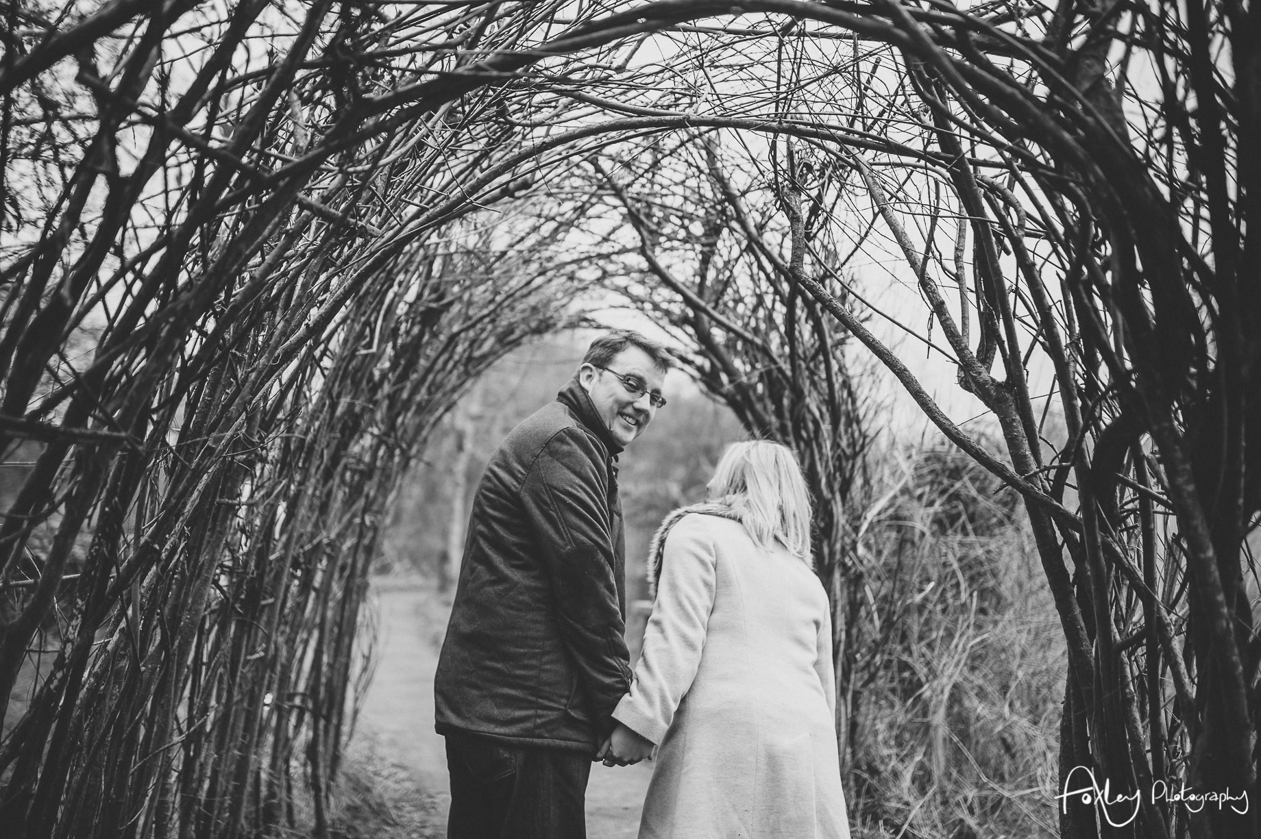 Rebecca and Paul's Pre-Wedding Shoot at Wycoller Country Park 015